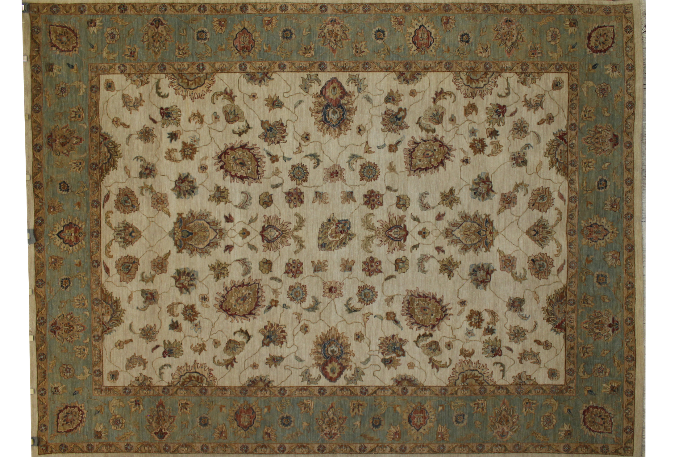 9x12 Traditional Hand Knotted Wool Area Rug - MR005865