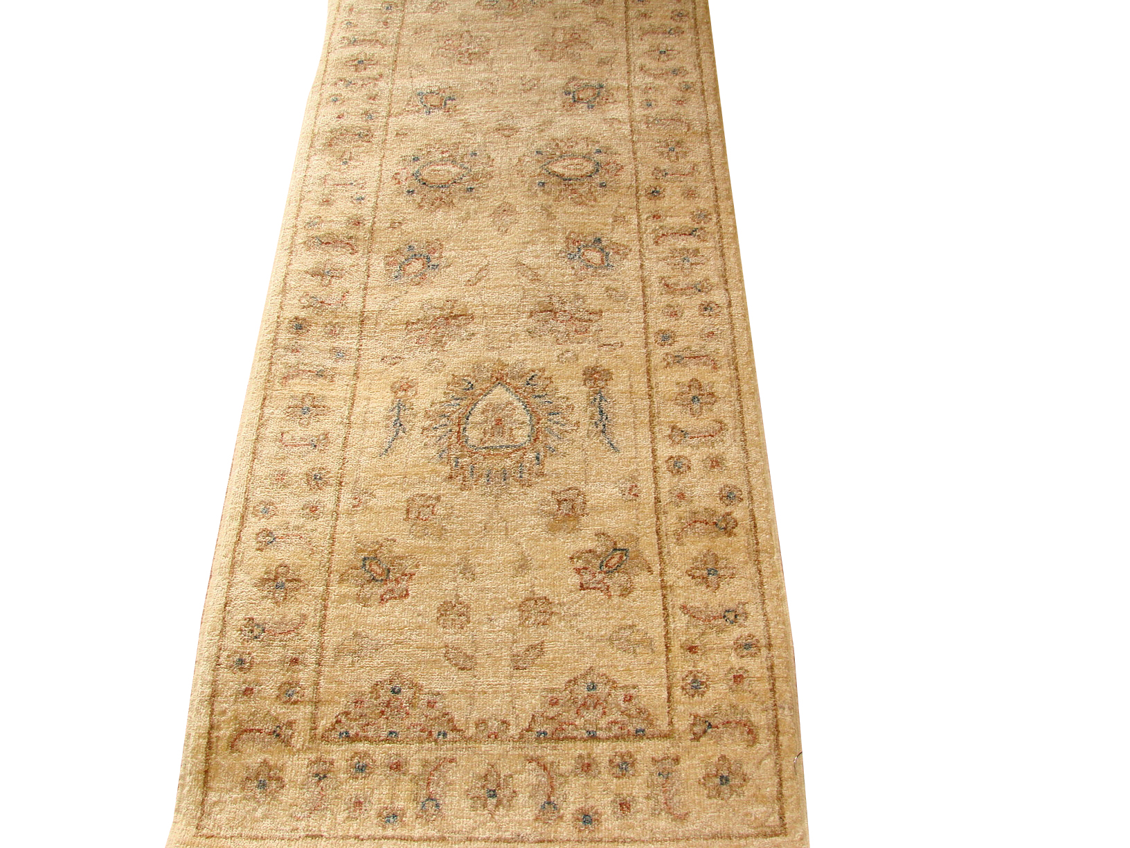6 ft. Runner Peshawar Hand Knotted Wool Area Rug - MR013384