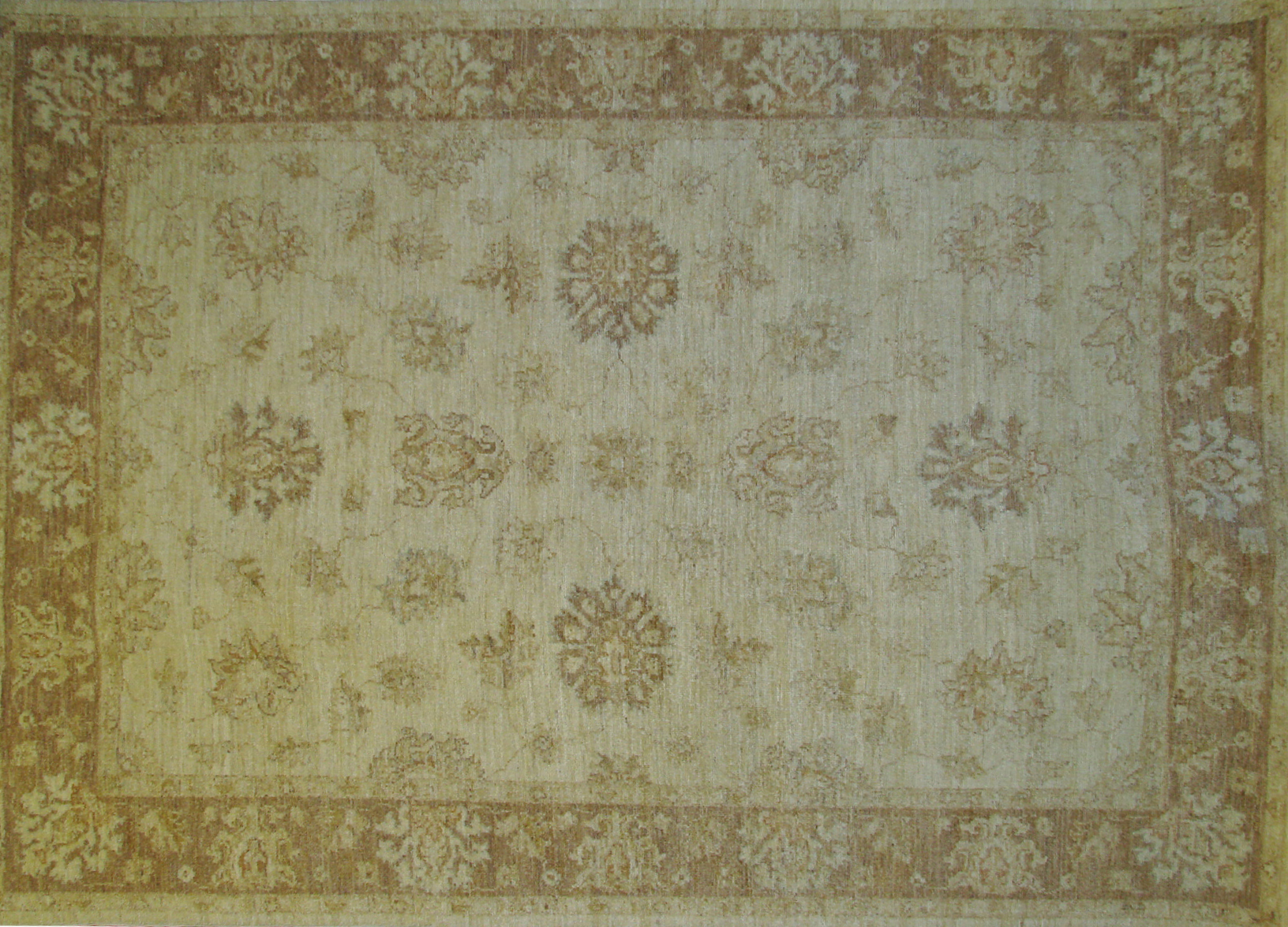 5x7/8 Peshawar Hand Knotted Wool Area Rug - MR013442