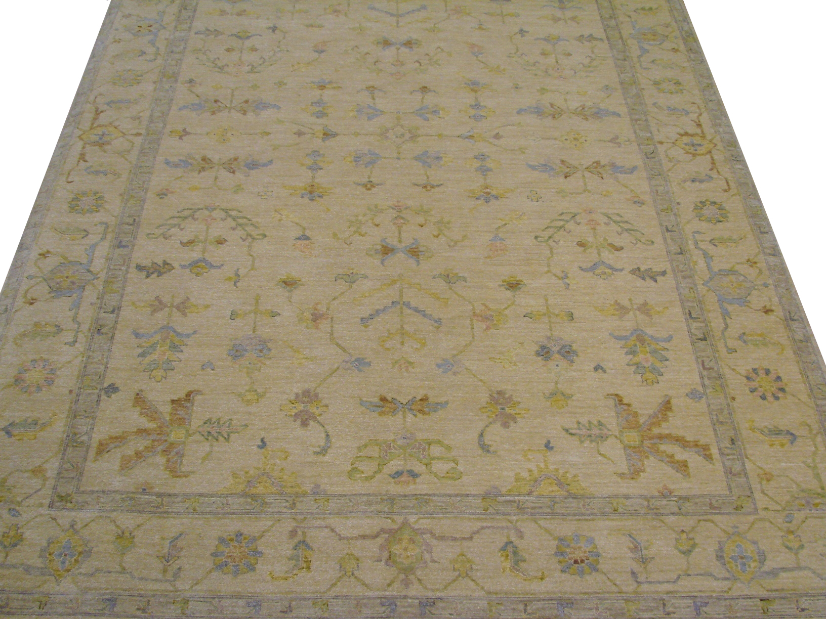 10x14 Traditional Hand Knotted Wool Area Rug - MR014068