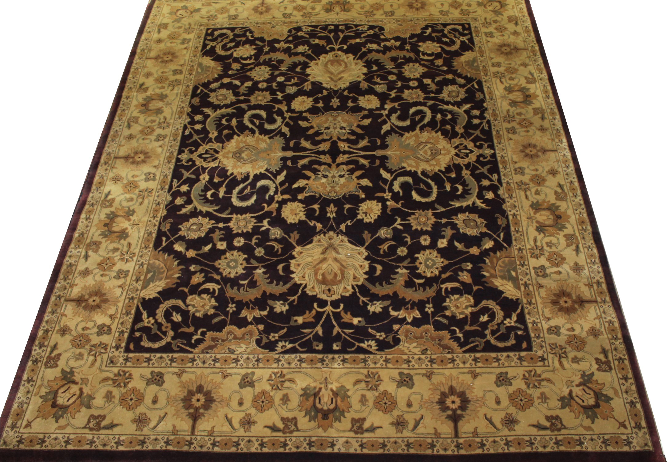 8x10 Traditional Hand Knotted Wool Area Rug - MR0155