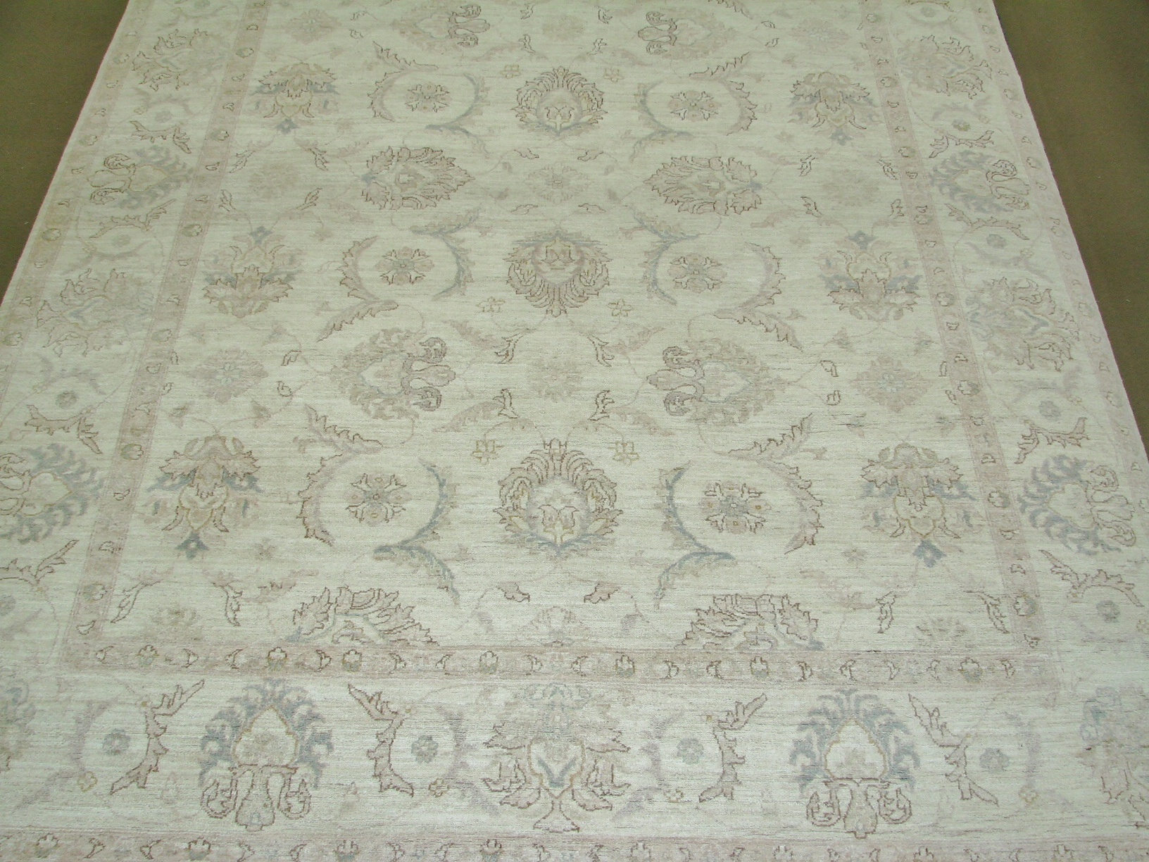 9x12 Peshawar Hand Knotted Wool Area Rug - MR015689