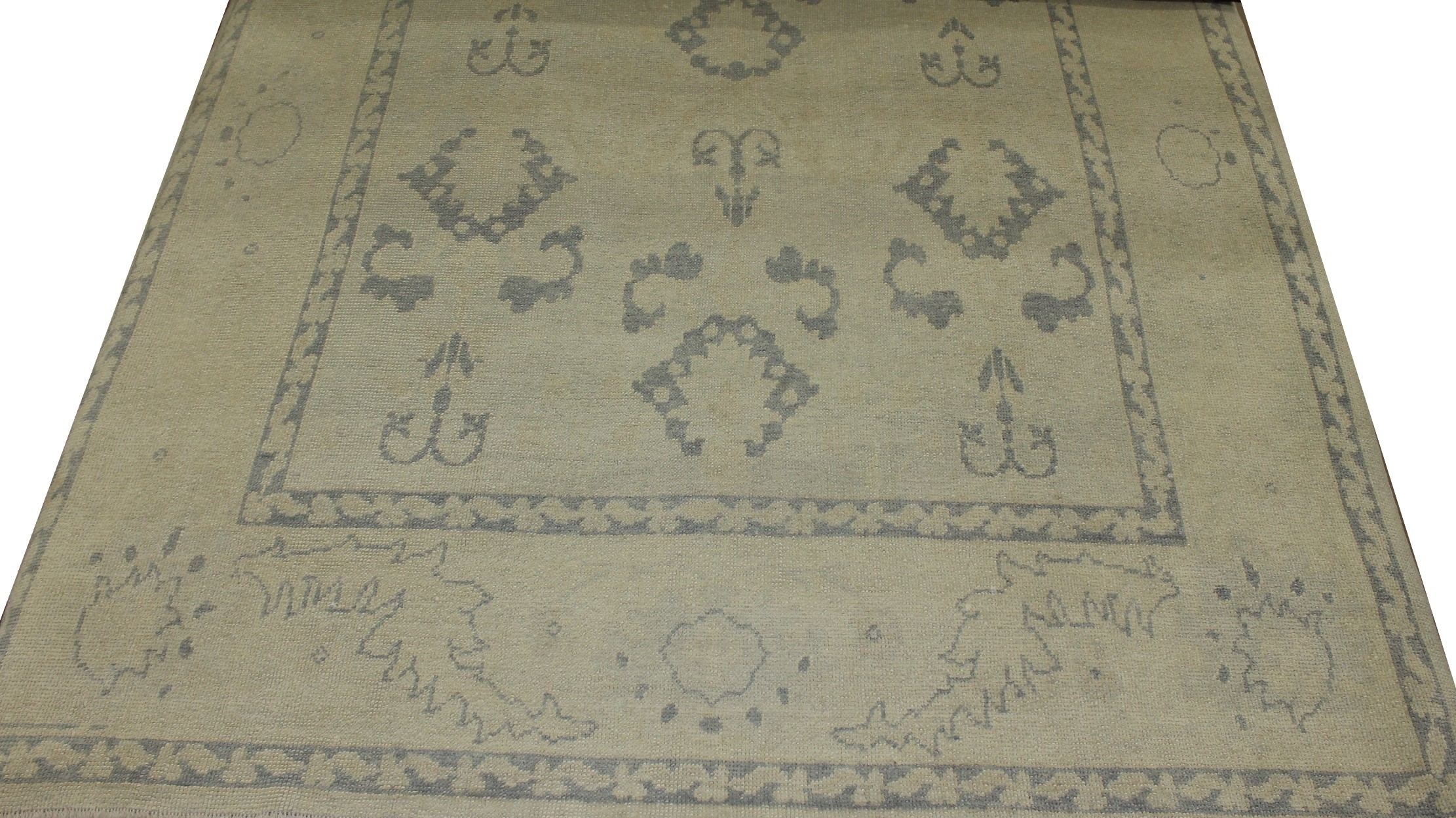 8x10 Oushak Hand Knotted  Area Rug - MR016926