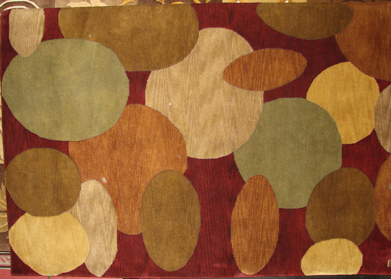 4x6 Modern Hand Knotted Wool Area Rug - MR017486