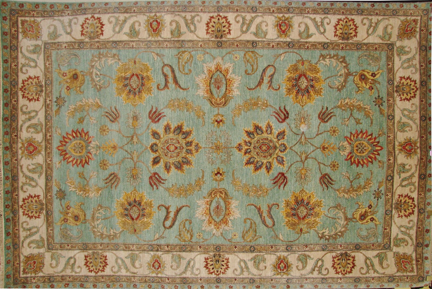6x9 Traditional Hand Knotted  Area Rug - MR017971