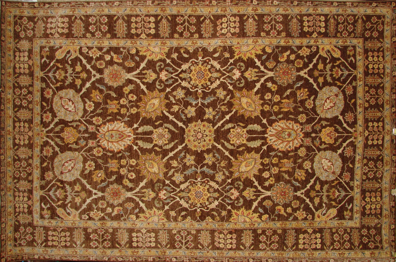 6x9 Traditional Hand Knotted  Area Rug - MR017974