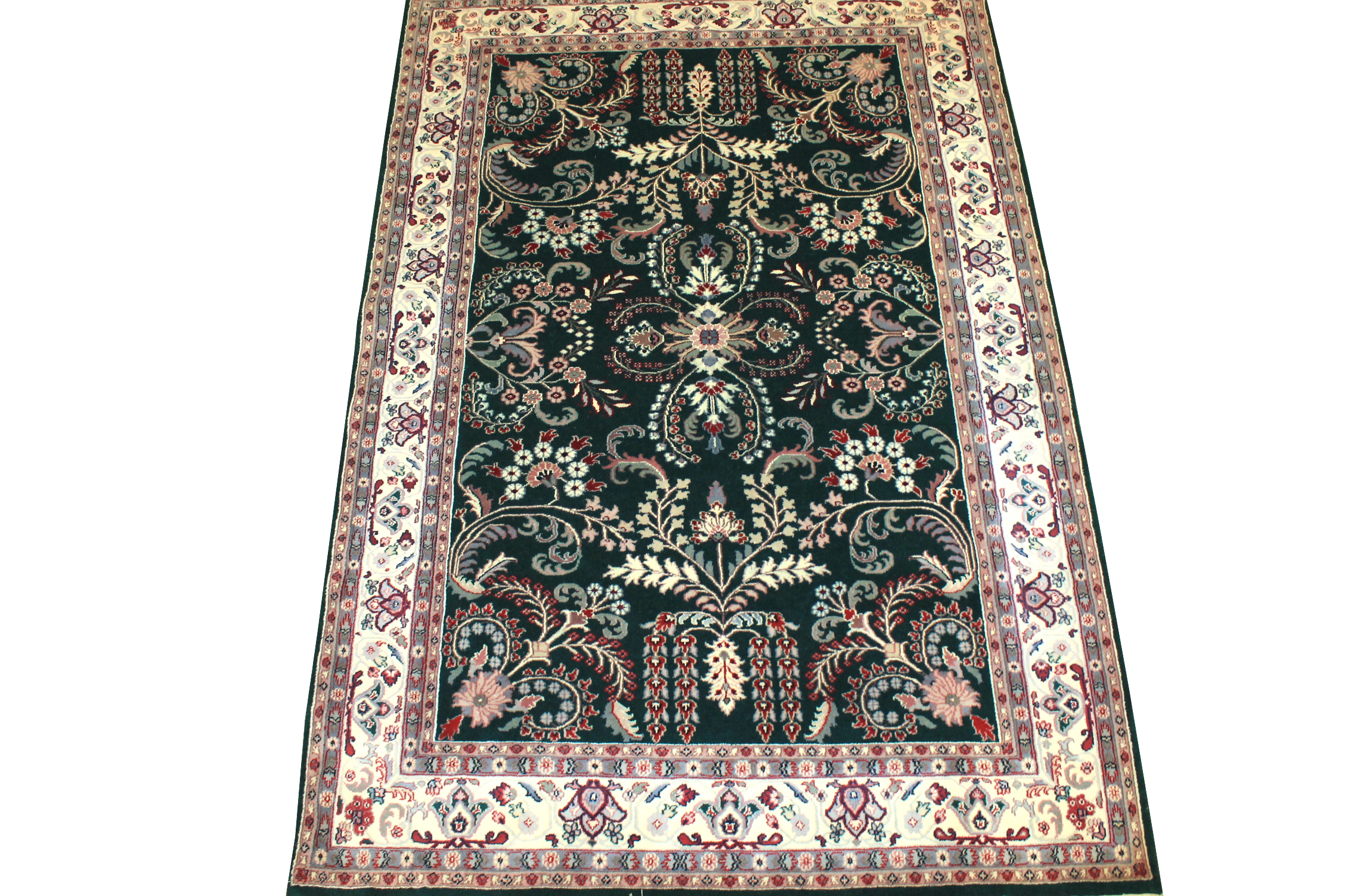6x9 Traditional Hand Knotted Wool Area Rug - MR0190