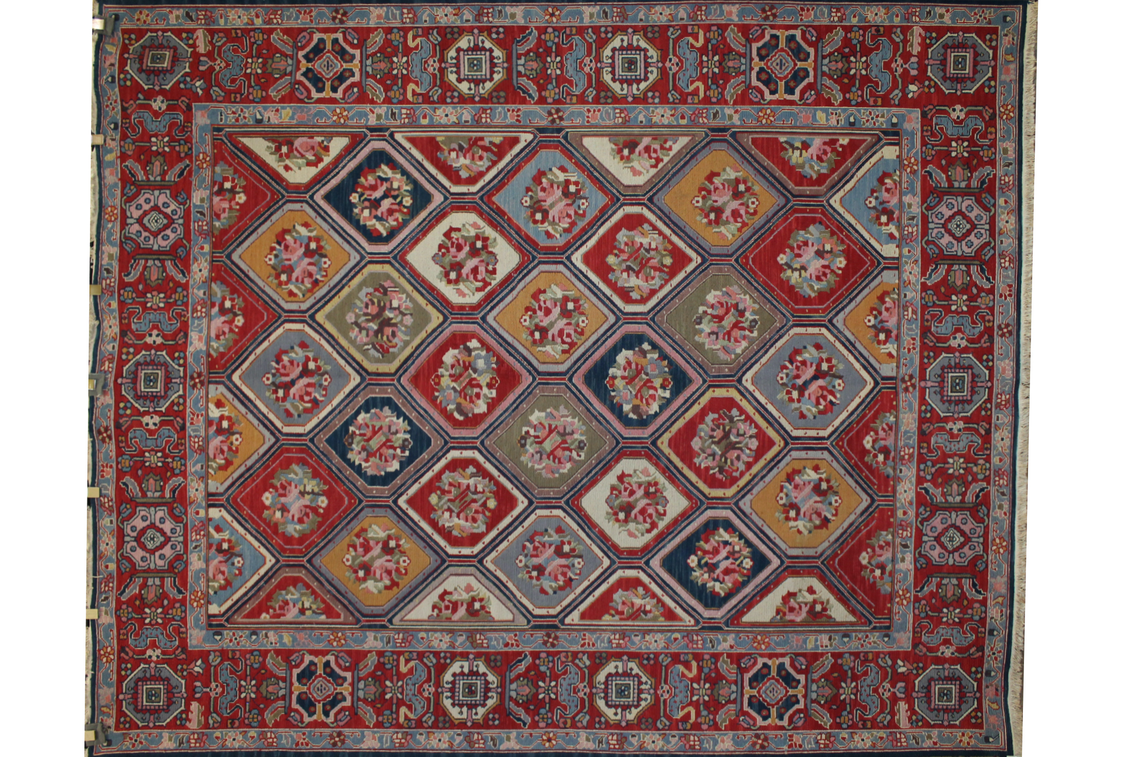 8x10 Traditional Hand Knotted Wool Area Rug - MR020188
