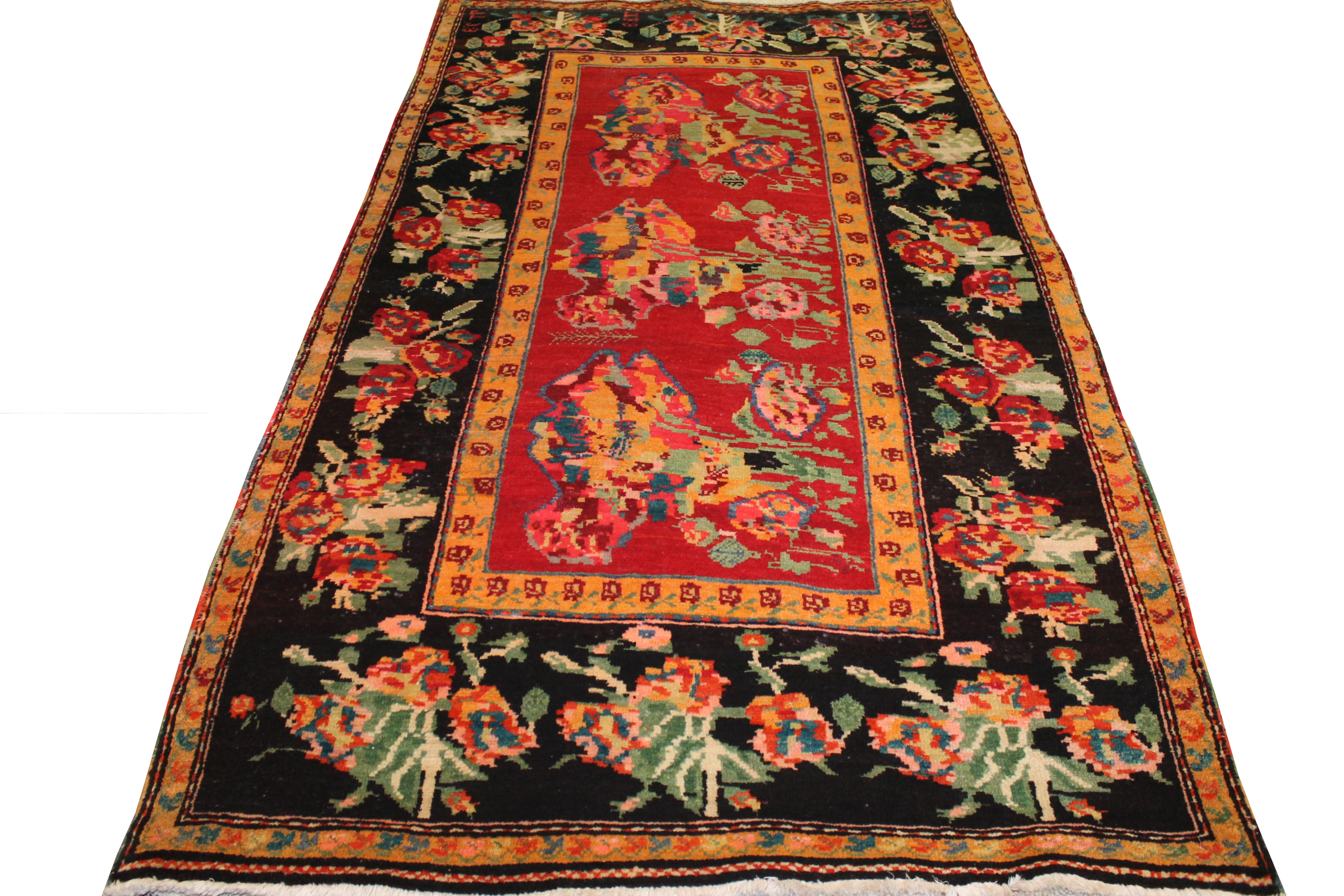 5x7/8 Traditional Hand Knotted Wool Area Rug - MR020189