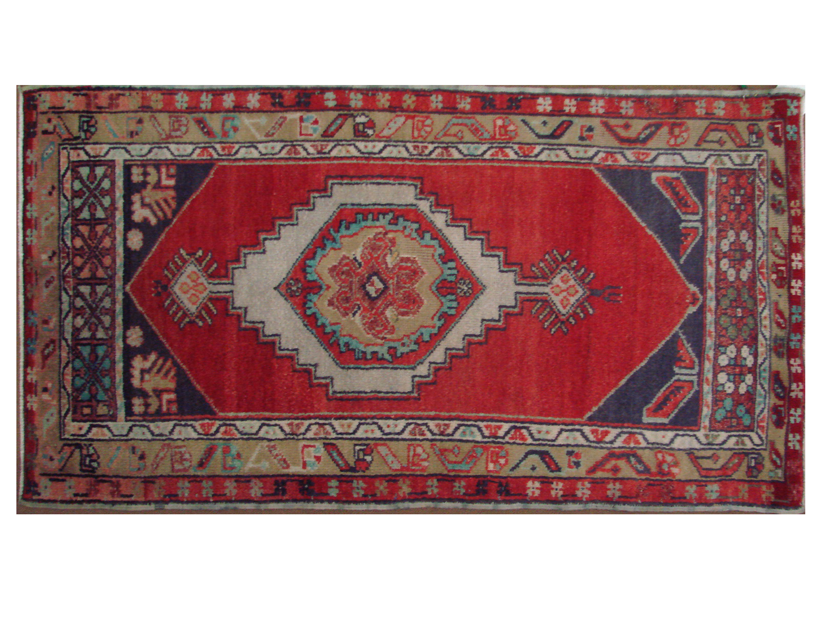 3x5 Oushak Hand Knotted Wool Area Rug - MR021401