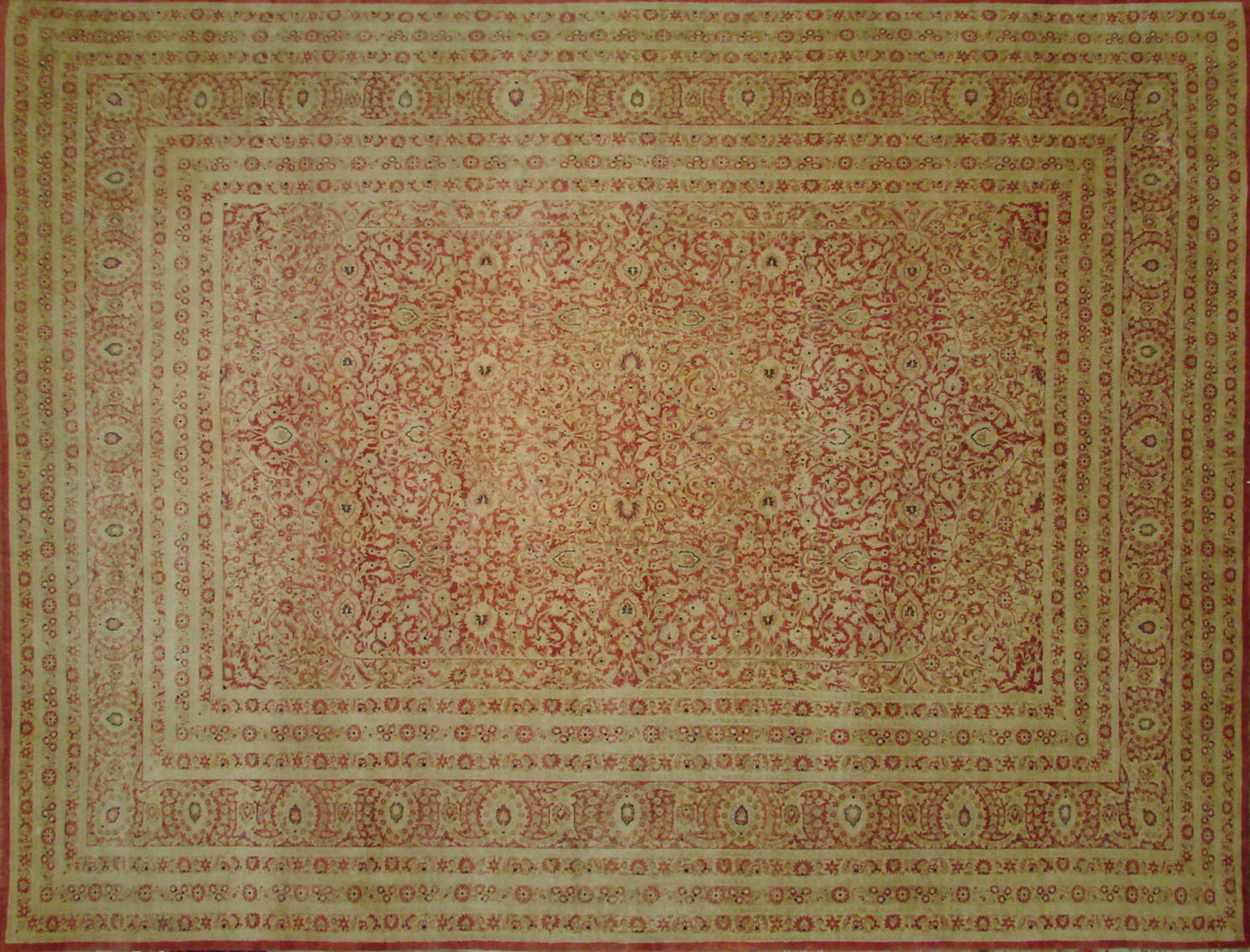 9x12 Antique Revival Hand Knotted Wool Area Rug - MR021648