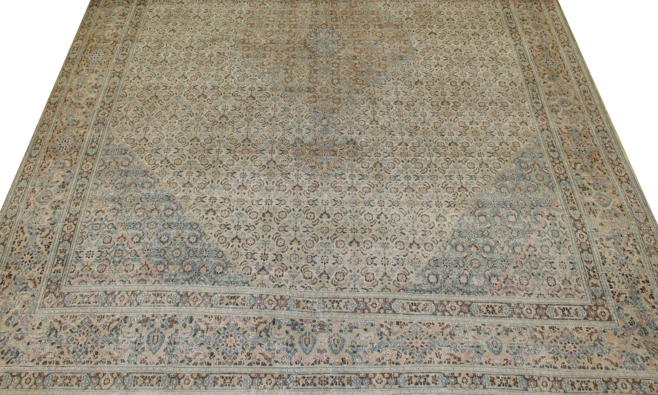 10x14 Traditional Hand Knotted Wool Area Rug - MR021650
