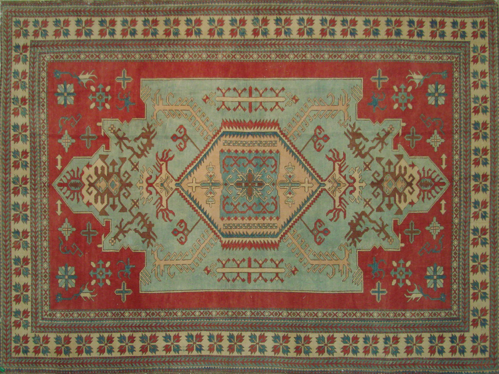 8x10 Oushak Hand Knotted Wool Area Rug - MR021665