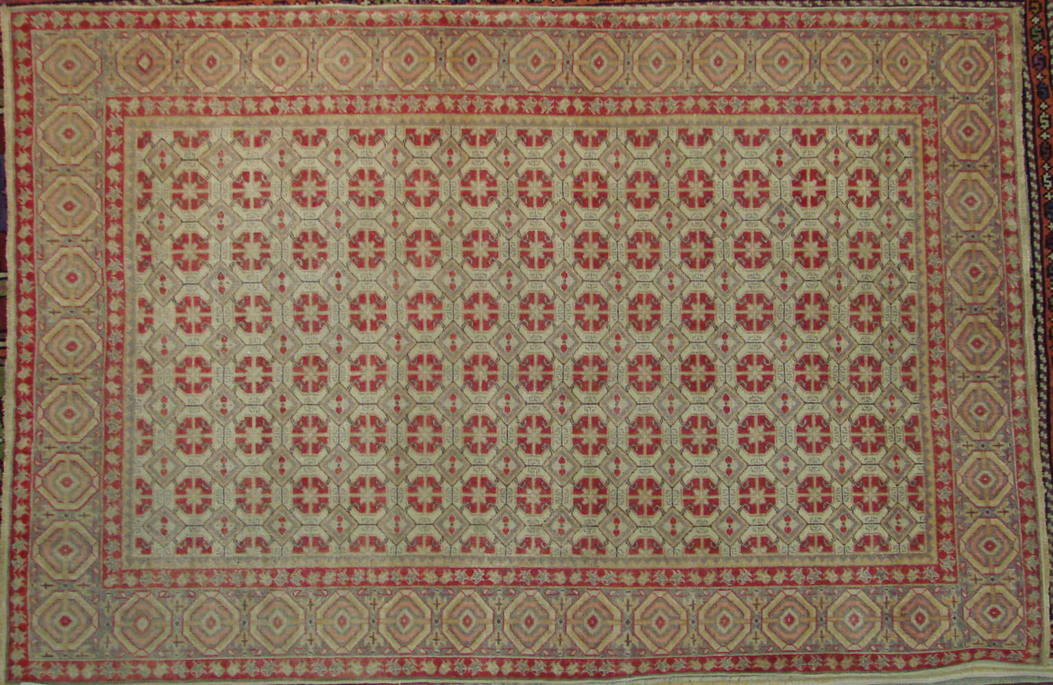 4x6 Oushak Hand Knotted Wool Area Rug - MR021675