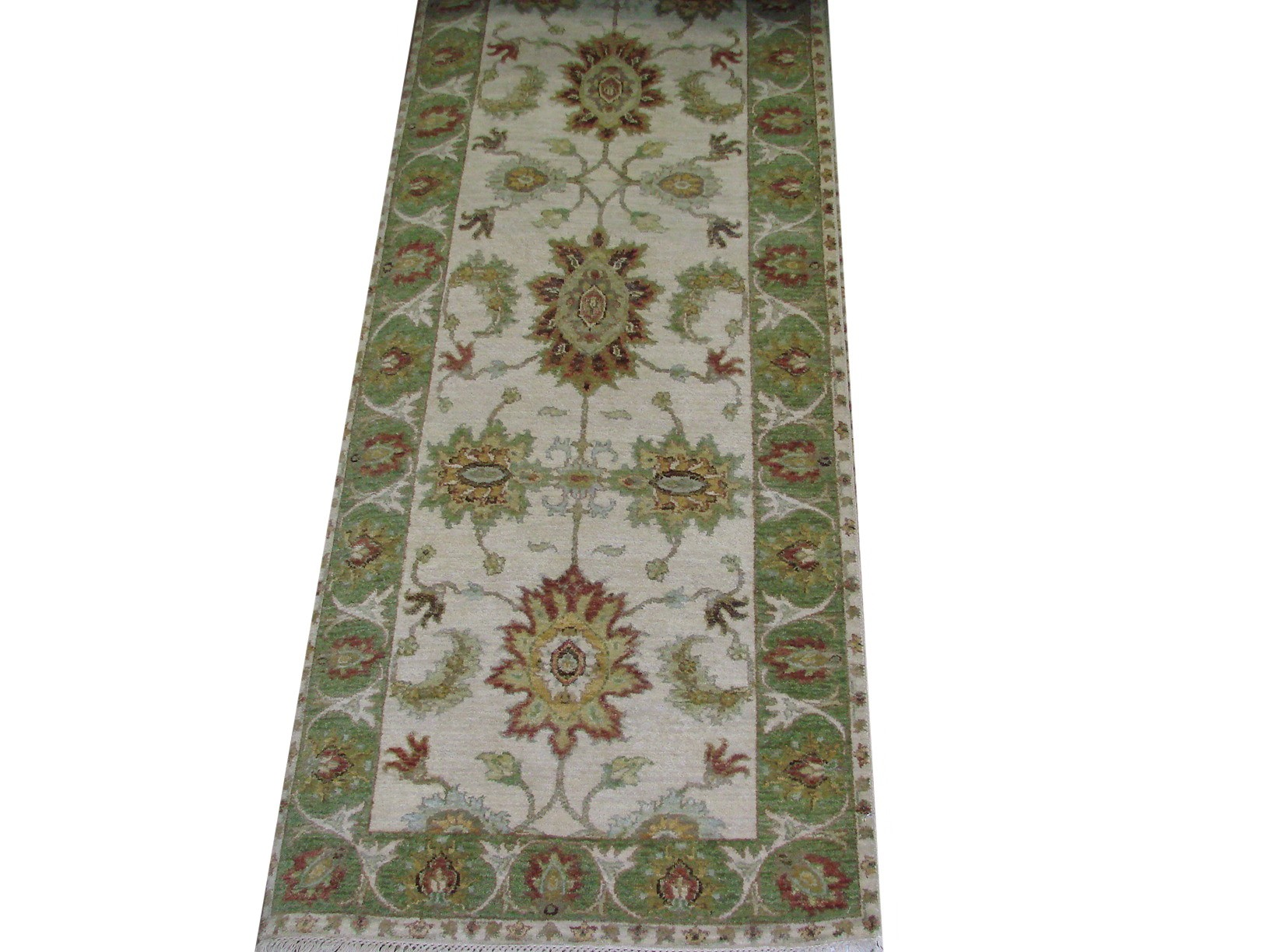 8 Runner Traditional Hand Knotted Wool Area Rug - MR021761