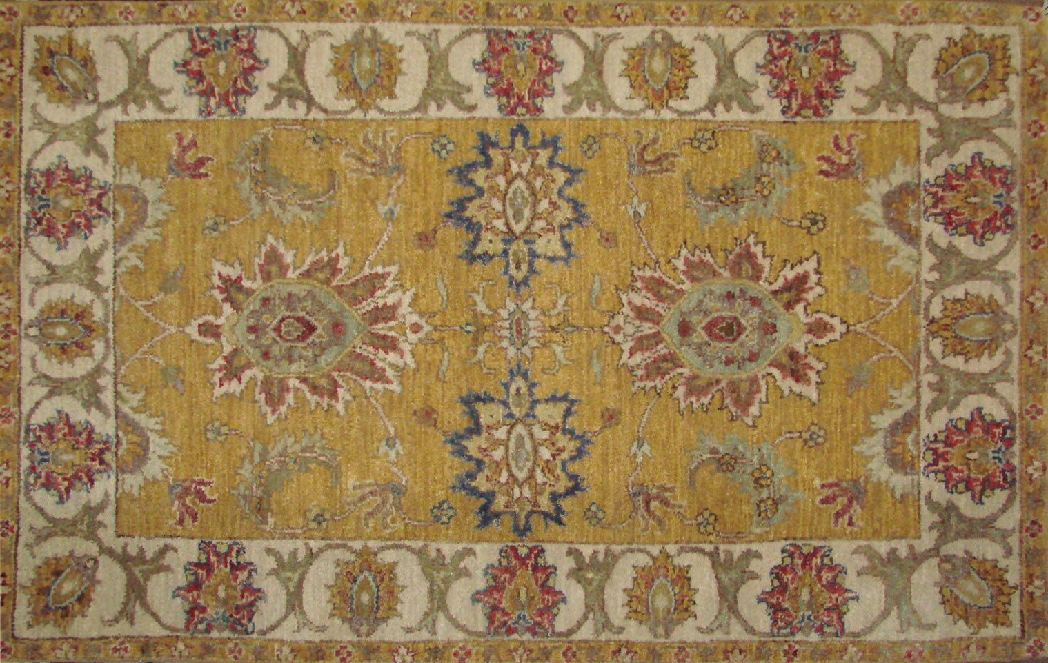 2X4 Traditional Hand Knotted Wool Area Rug - MR021763
