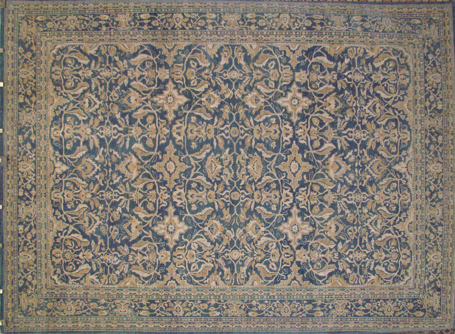 9x12 Peshawar Hand Knotted Wool Area Rug - MR021824