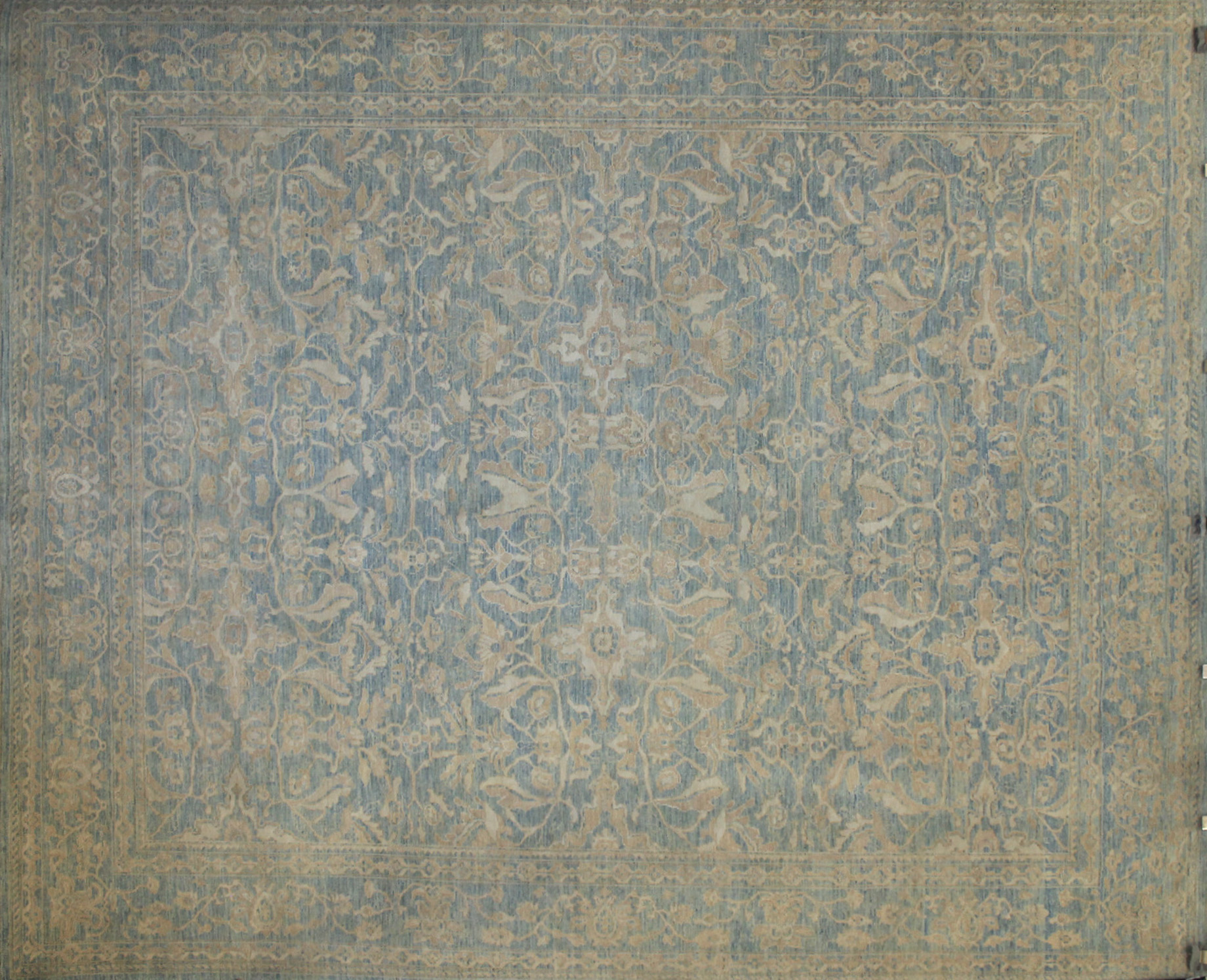 8x10 Peshawar Hand Knotted Wool Area Rug - MR021826