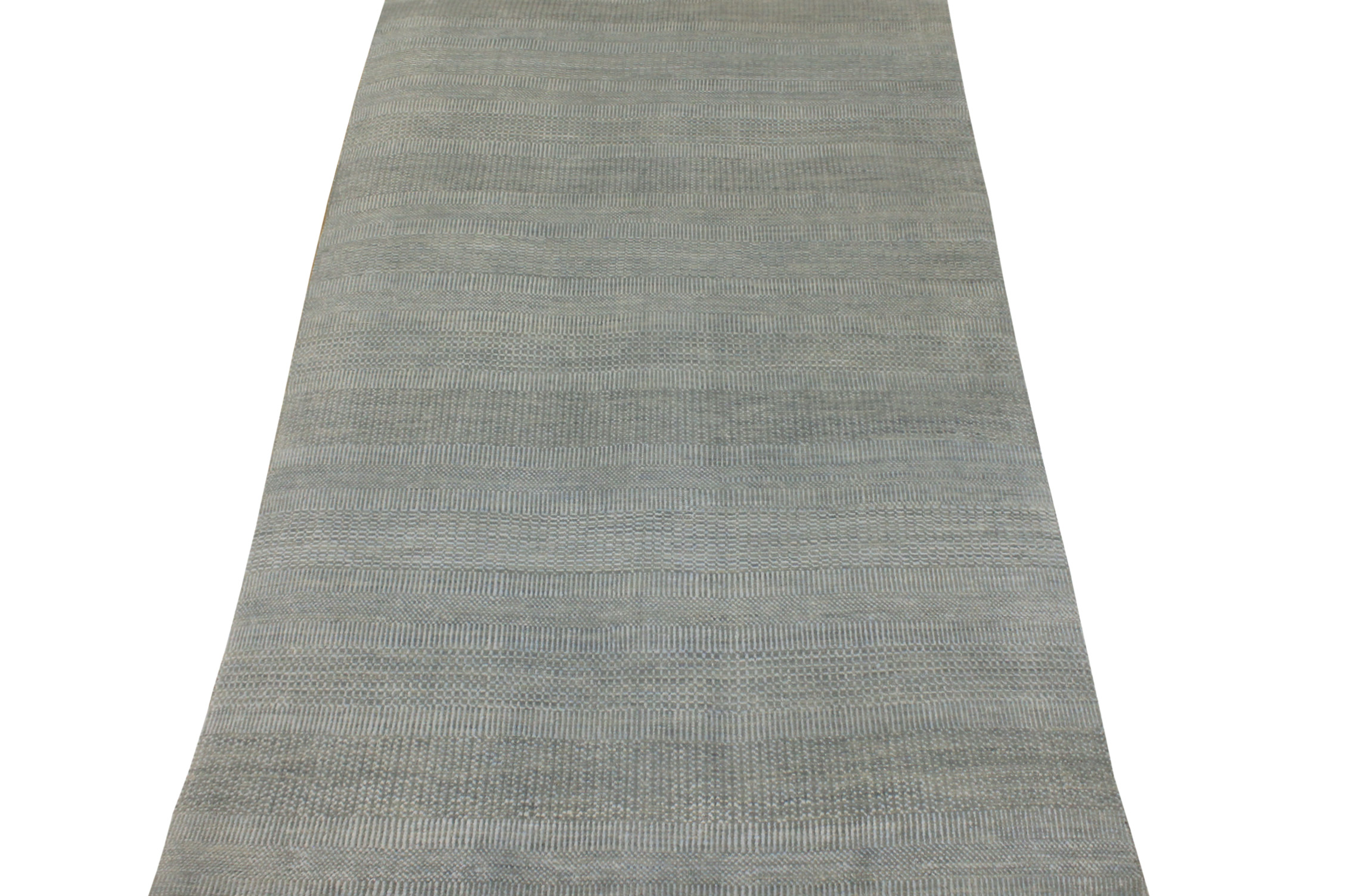 6x9 Contemporary Hand Knotted Wool Area Rug - MR021842