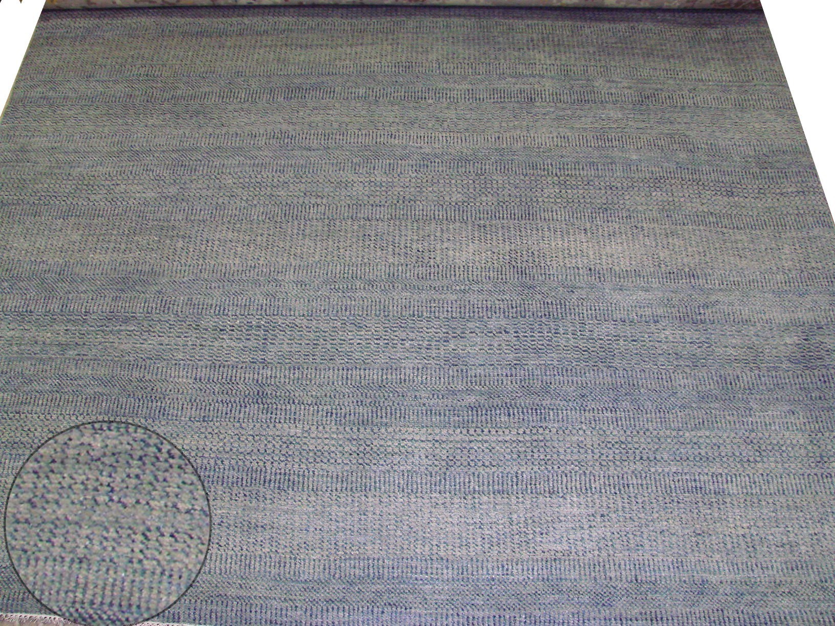 8x10 Contemporary Hand Knotted Wool Area Rug - MR021844