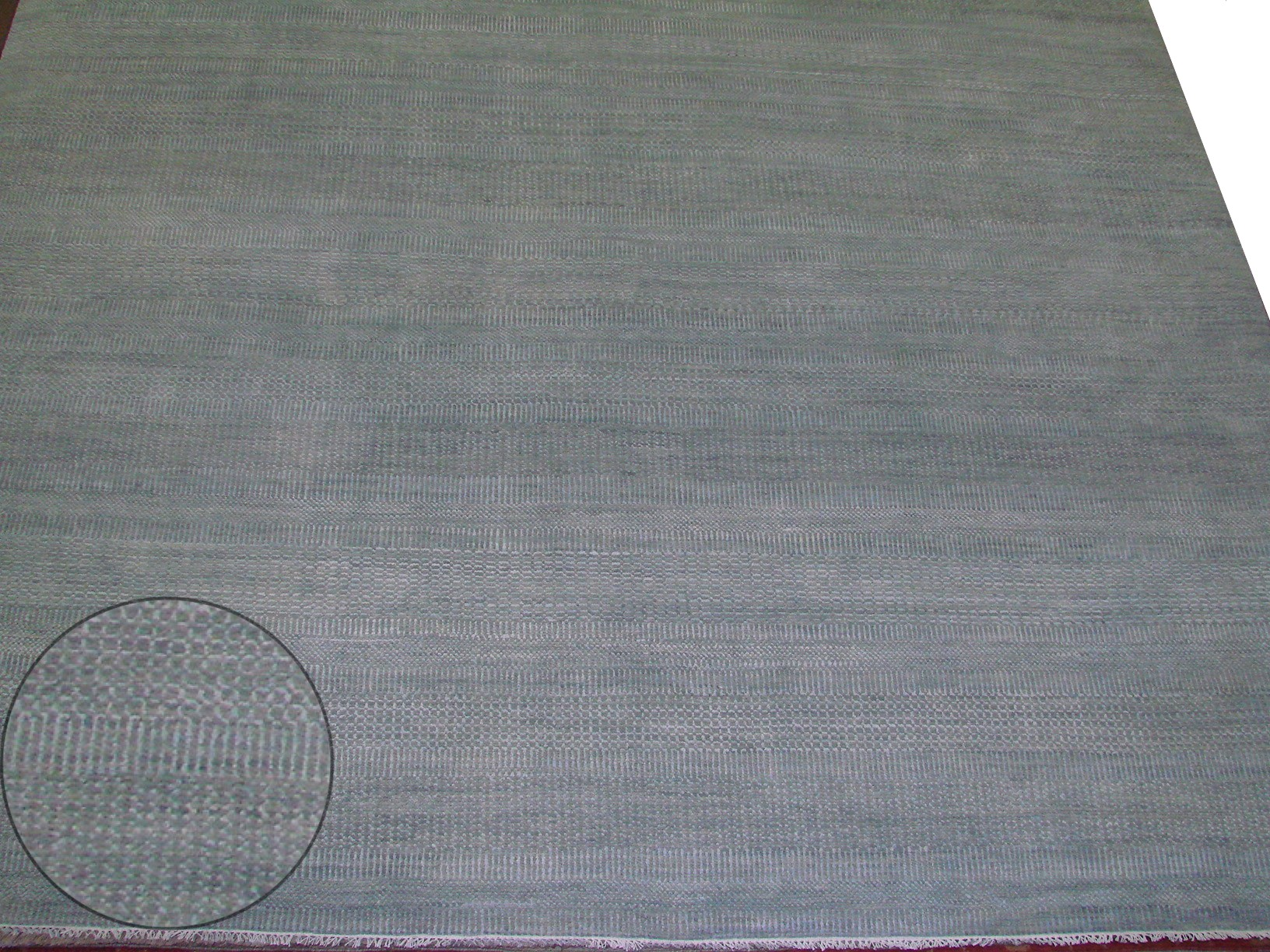10x14 Contemporary Hand Knotted Wool Area Rug - MR021854