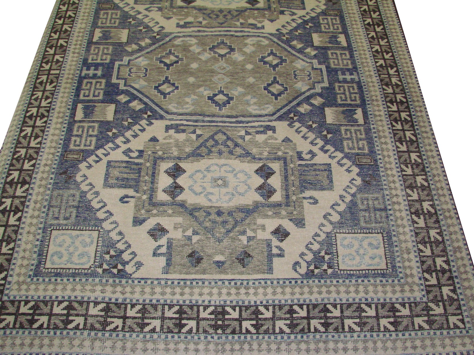 9x12 Oushak Hand Knotted Wool Area Rug - MR021914