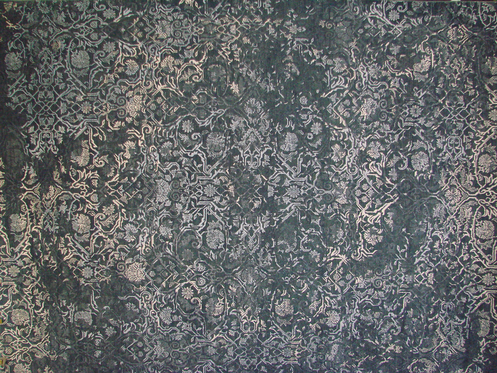 9x12 Contemporary Hand Knotted Wool Area Rug - MR021944