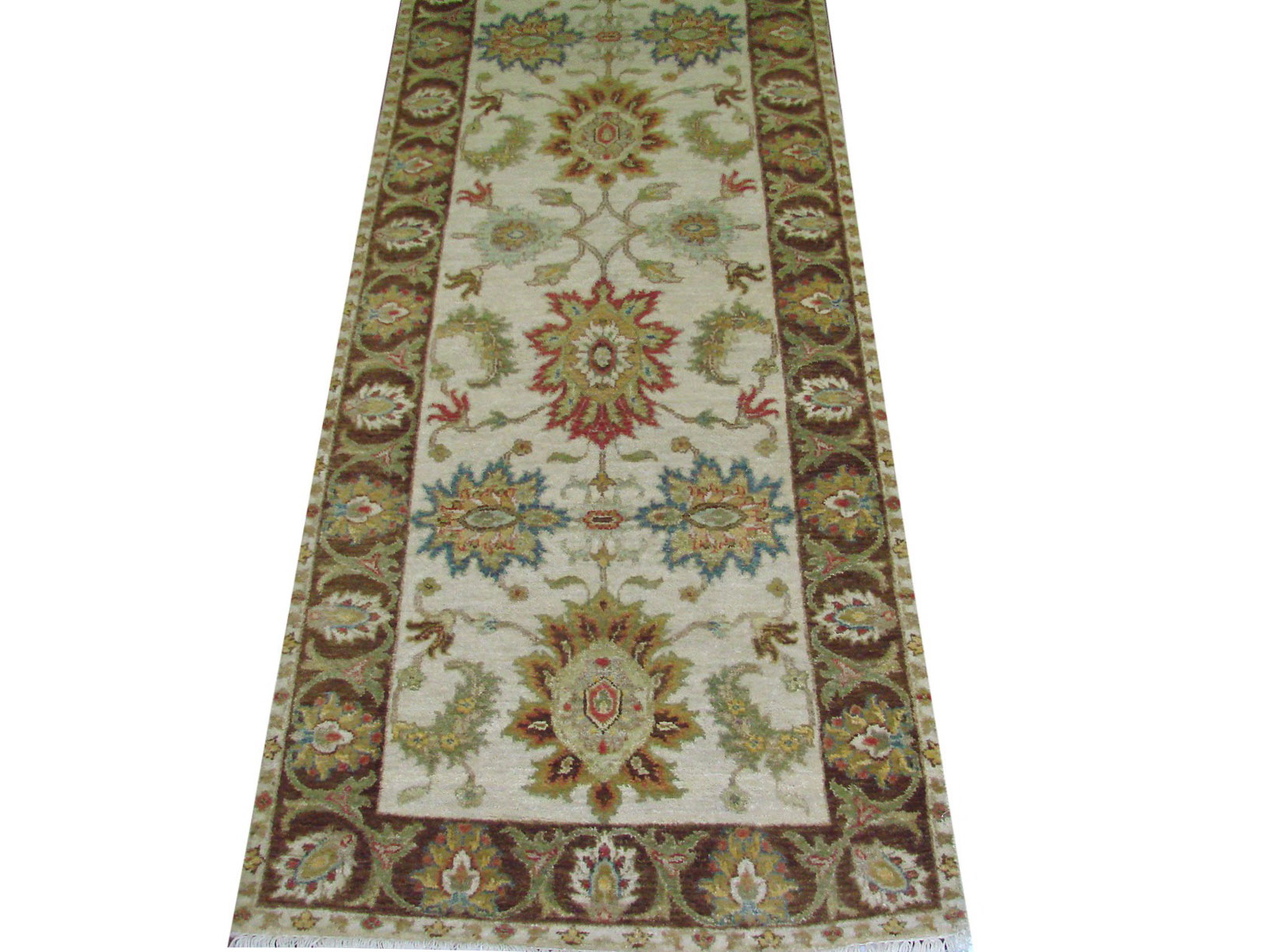 10 Runner Traditional Hand Knotted Wool Area Rug - MR021994