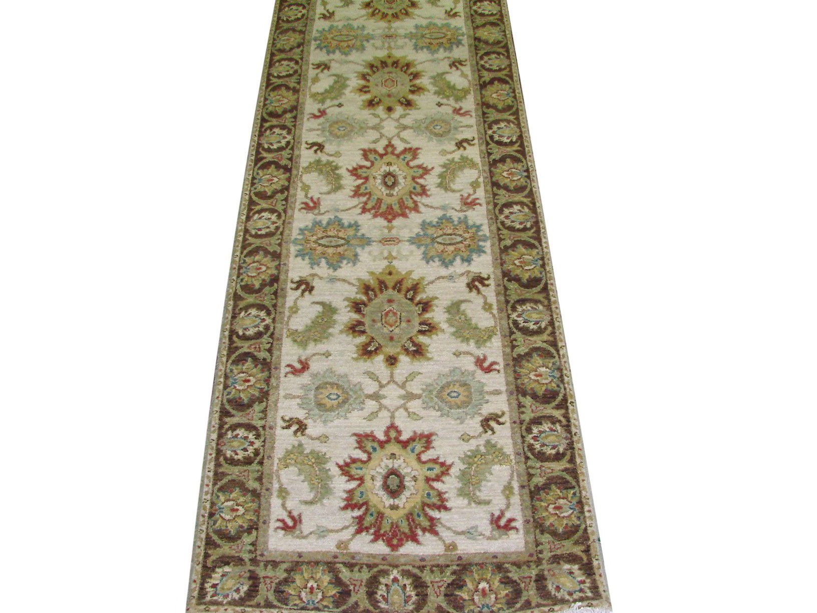 12 Runner Traditional Hand Knotted Wool Area Rug - MR021998