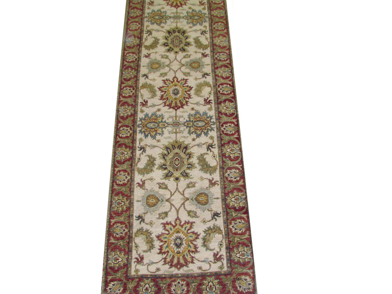 13 & Longer Runner Traditional Hand Knotted Wool Area Rug - MR022003