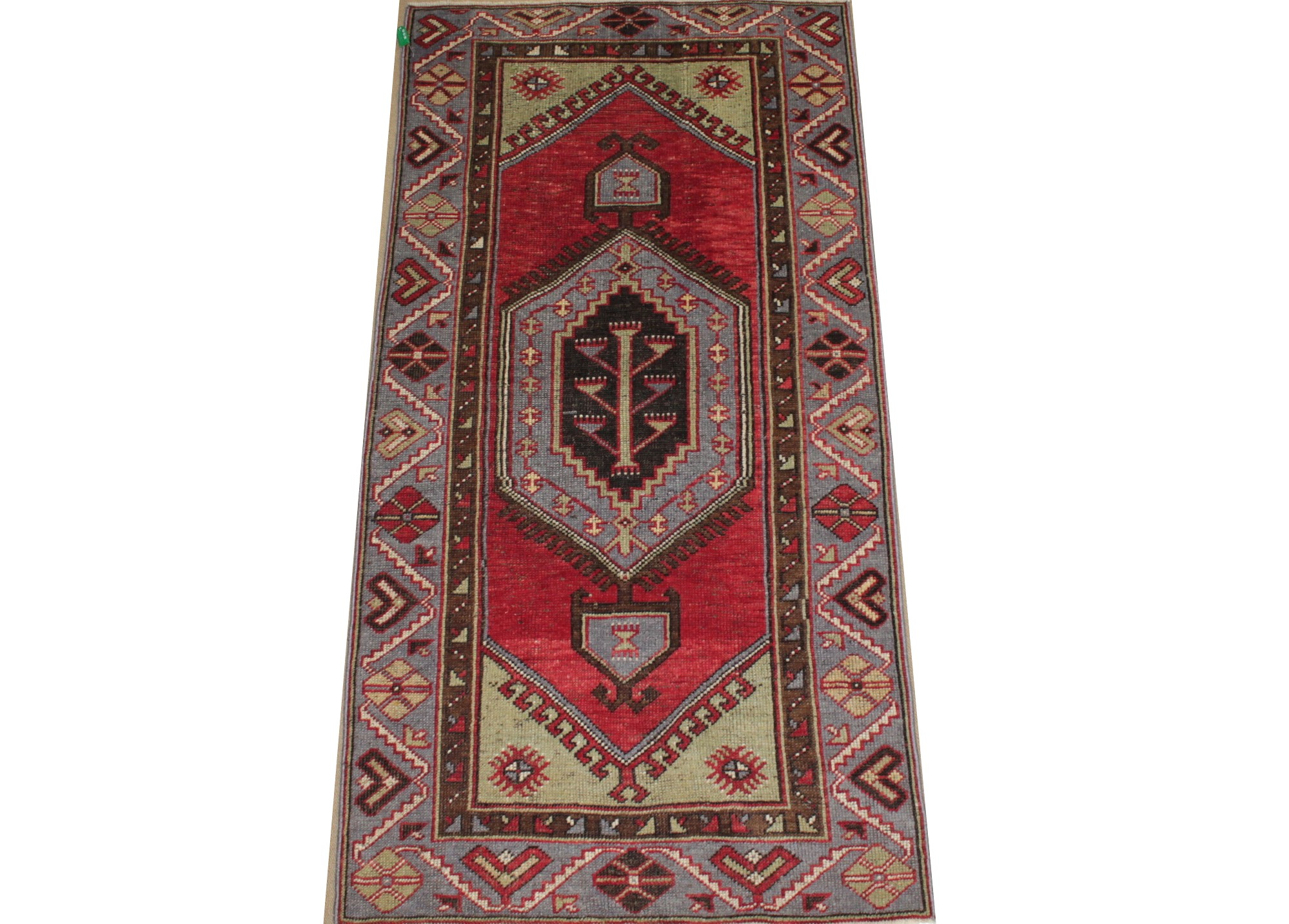 3x5 Oushak Hand Knotted Wool Area Rug - MR022034