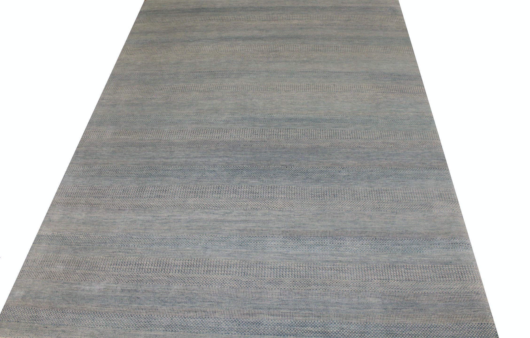 9x12 Contemporary Hand Knotted Wool Area Rug - MR022104