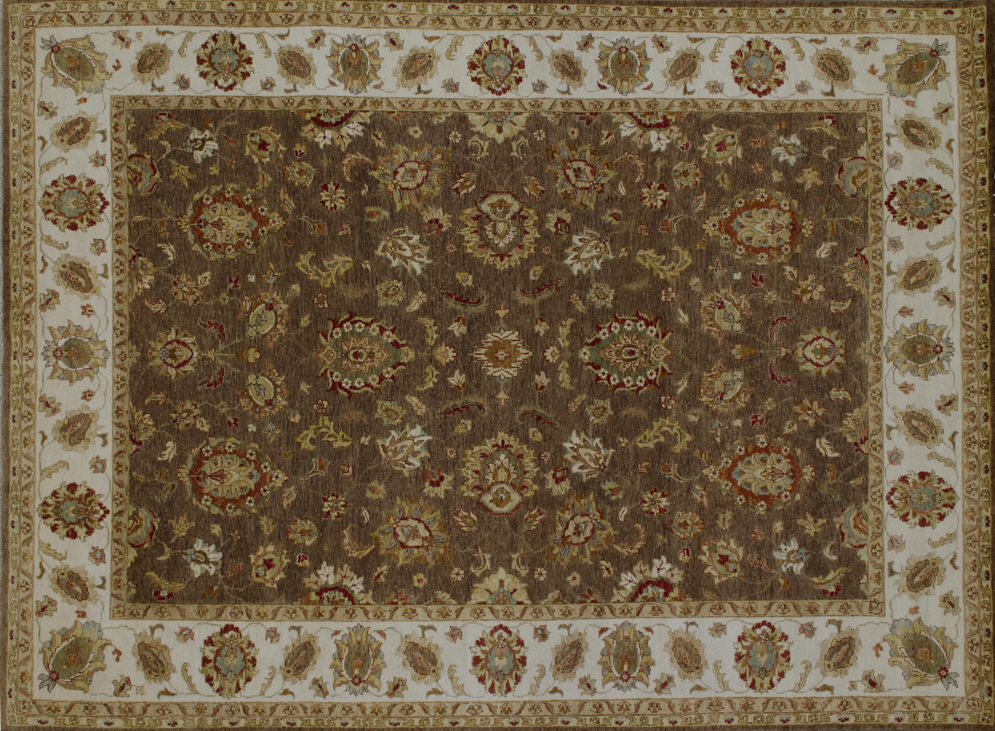 9x12 Traditional Hand Knotted Wool Area Rug - MR022396