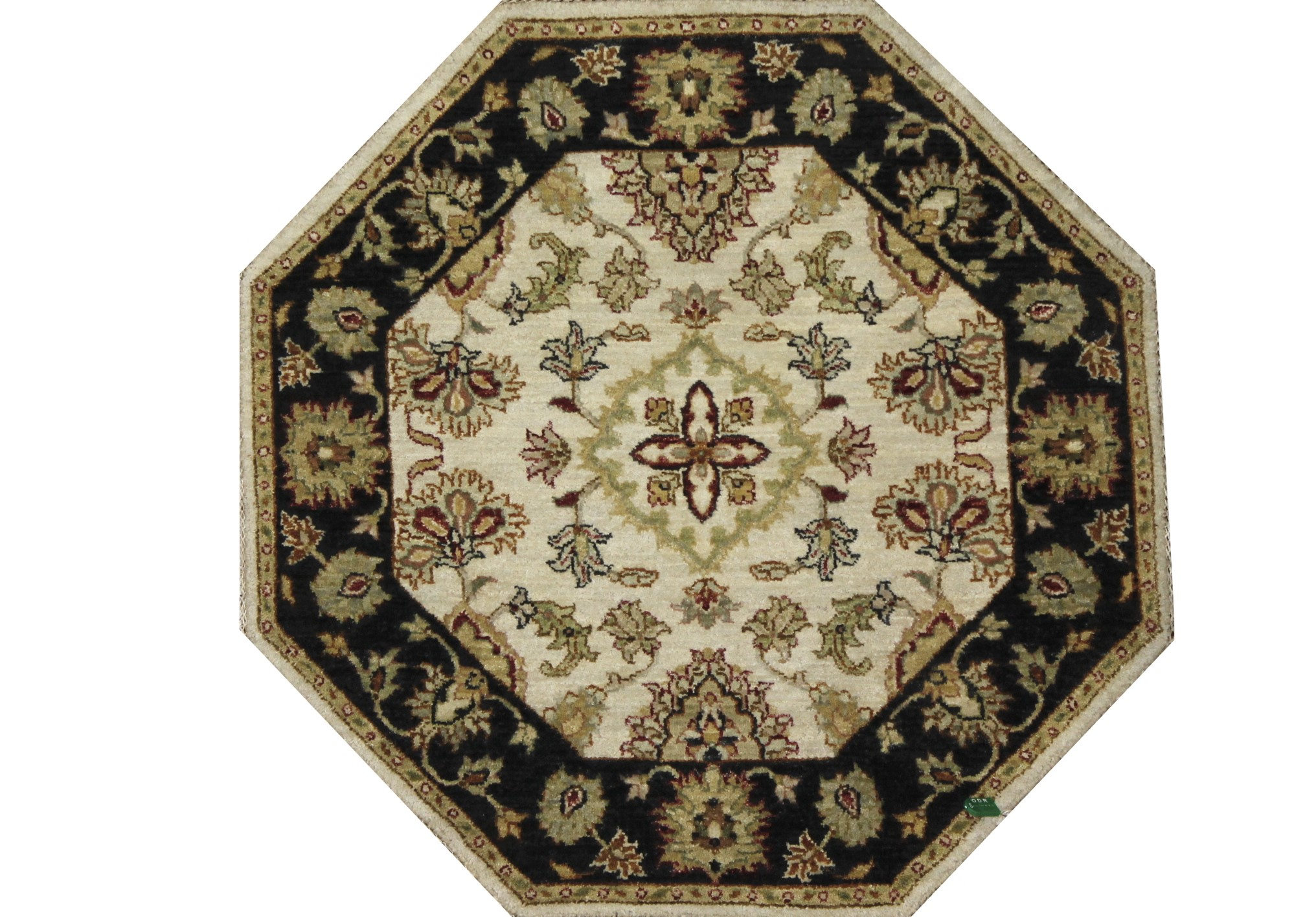 Traditional Hand Knotted Wool Area Rug - MR022397