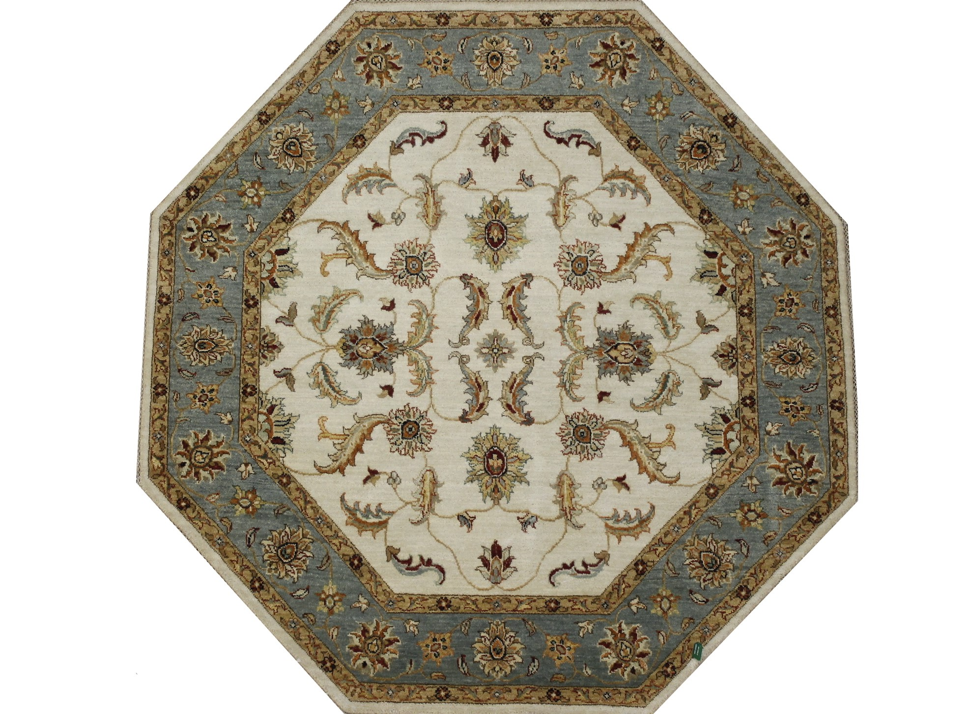 Traditional Hand Knotted Wool Area Rug - MR022403