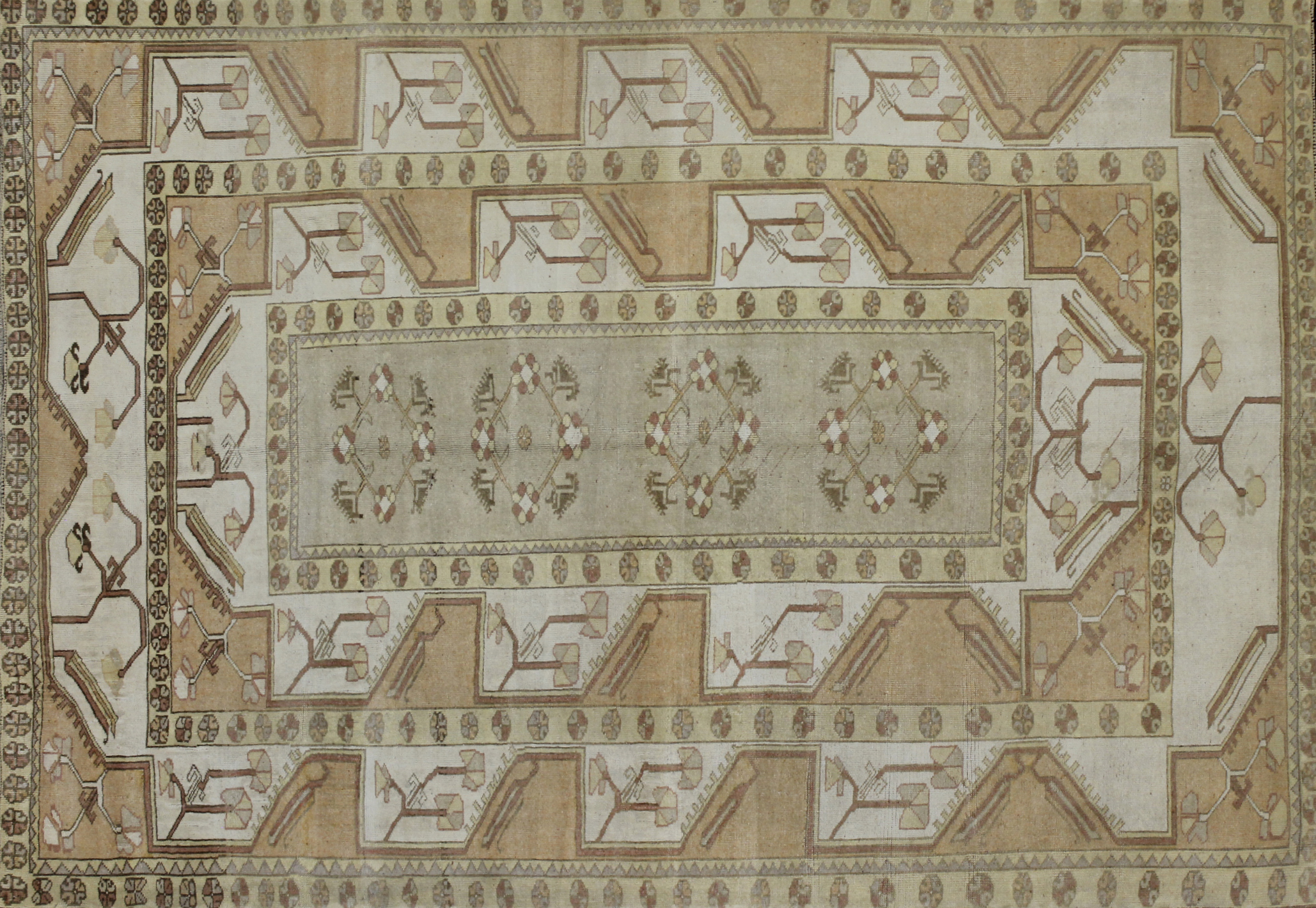 8x10 Tribal Hand Knotted Wool Area Rug - MR022540