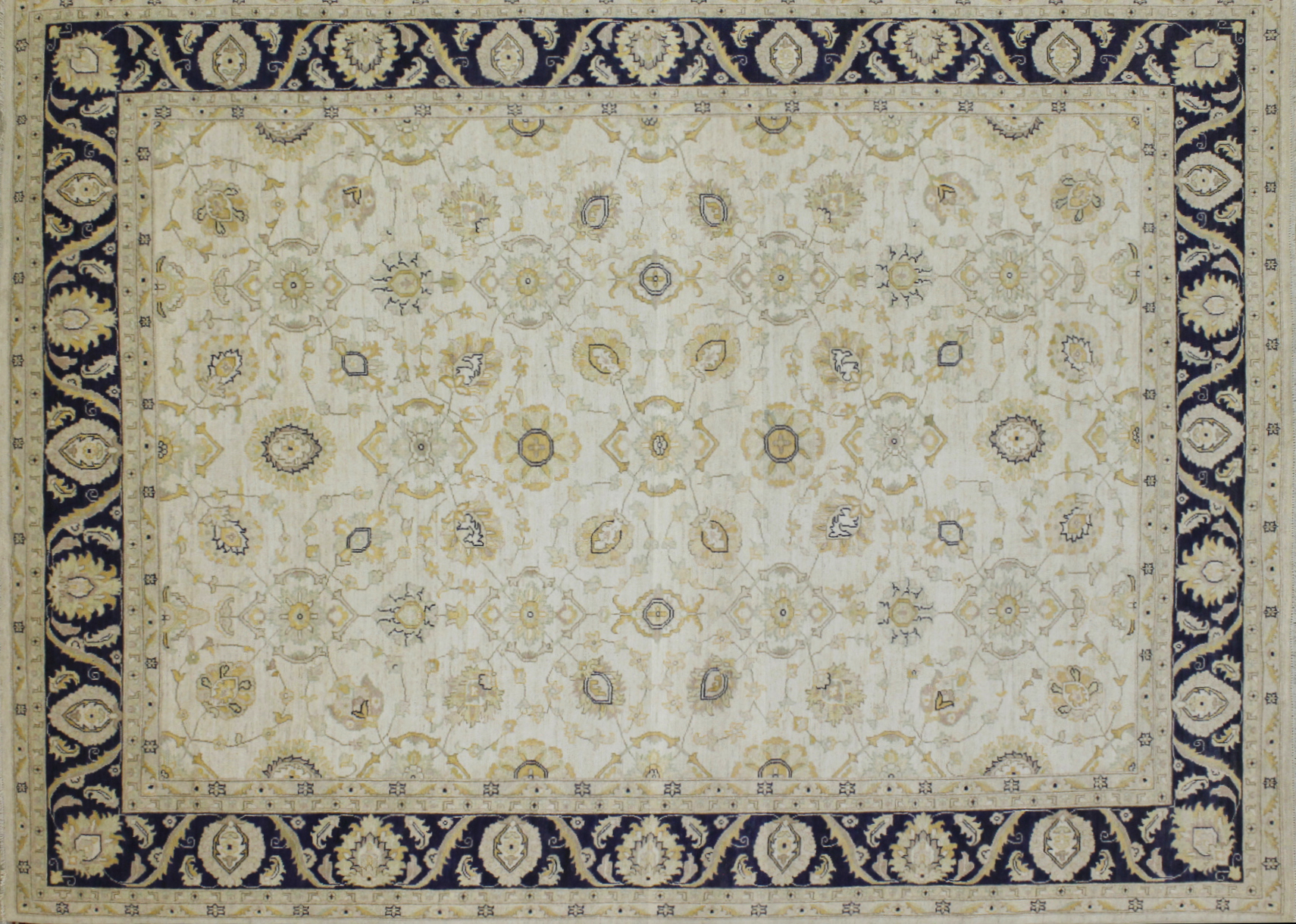 9x12 Peshawar Hand Knotted Wool Area Rug - MR022578