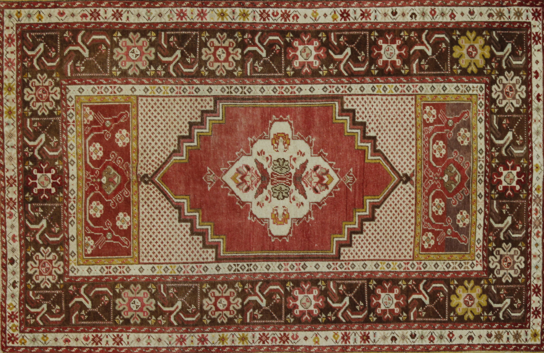 4x6 Tribal Hand Knotted Wool Area Rug - MR022610