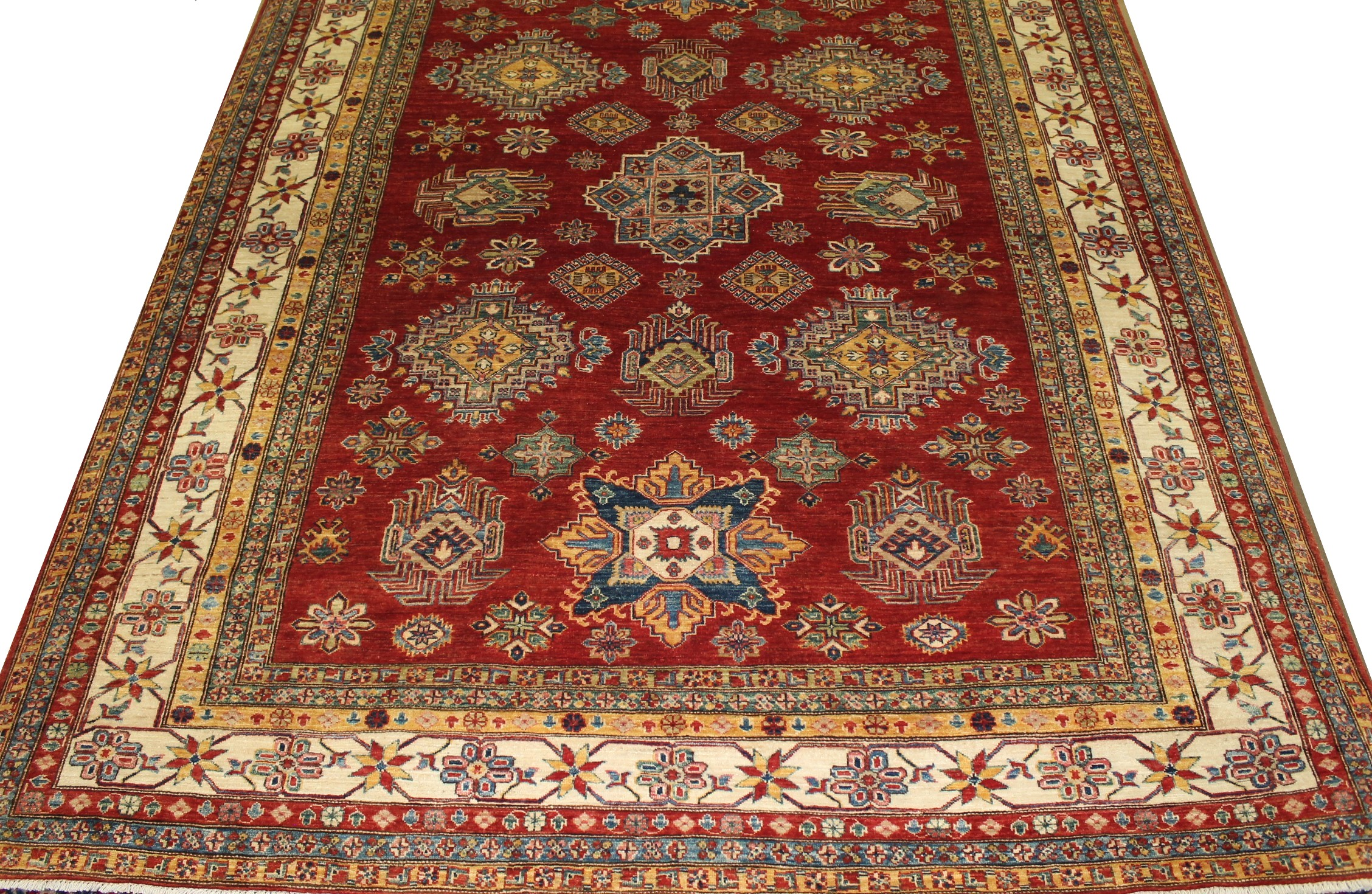 8x10  Hand Knotted Wool Area Rug - MR022815