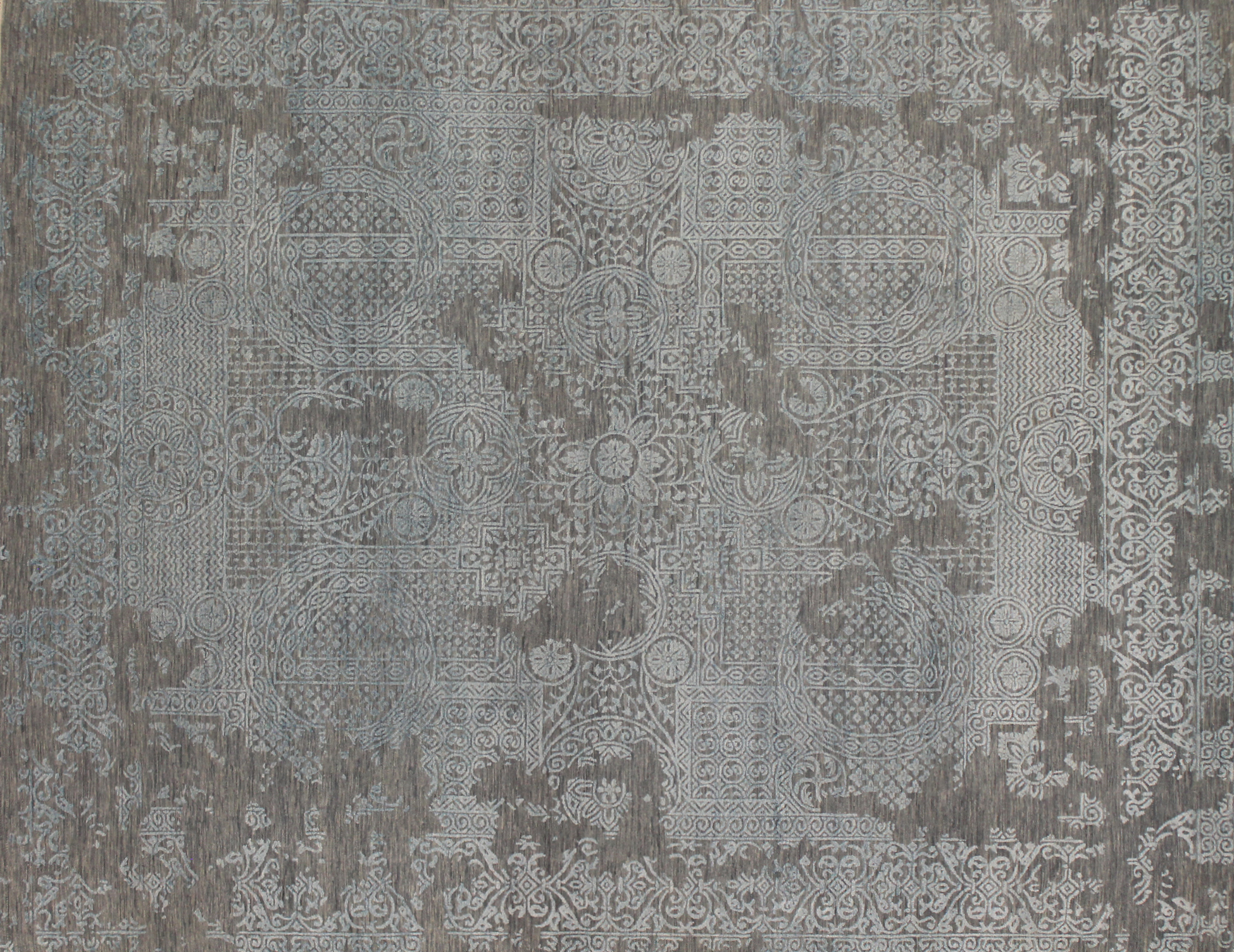 8x10  Hand Knotted Wool Area Rug - MR022834