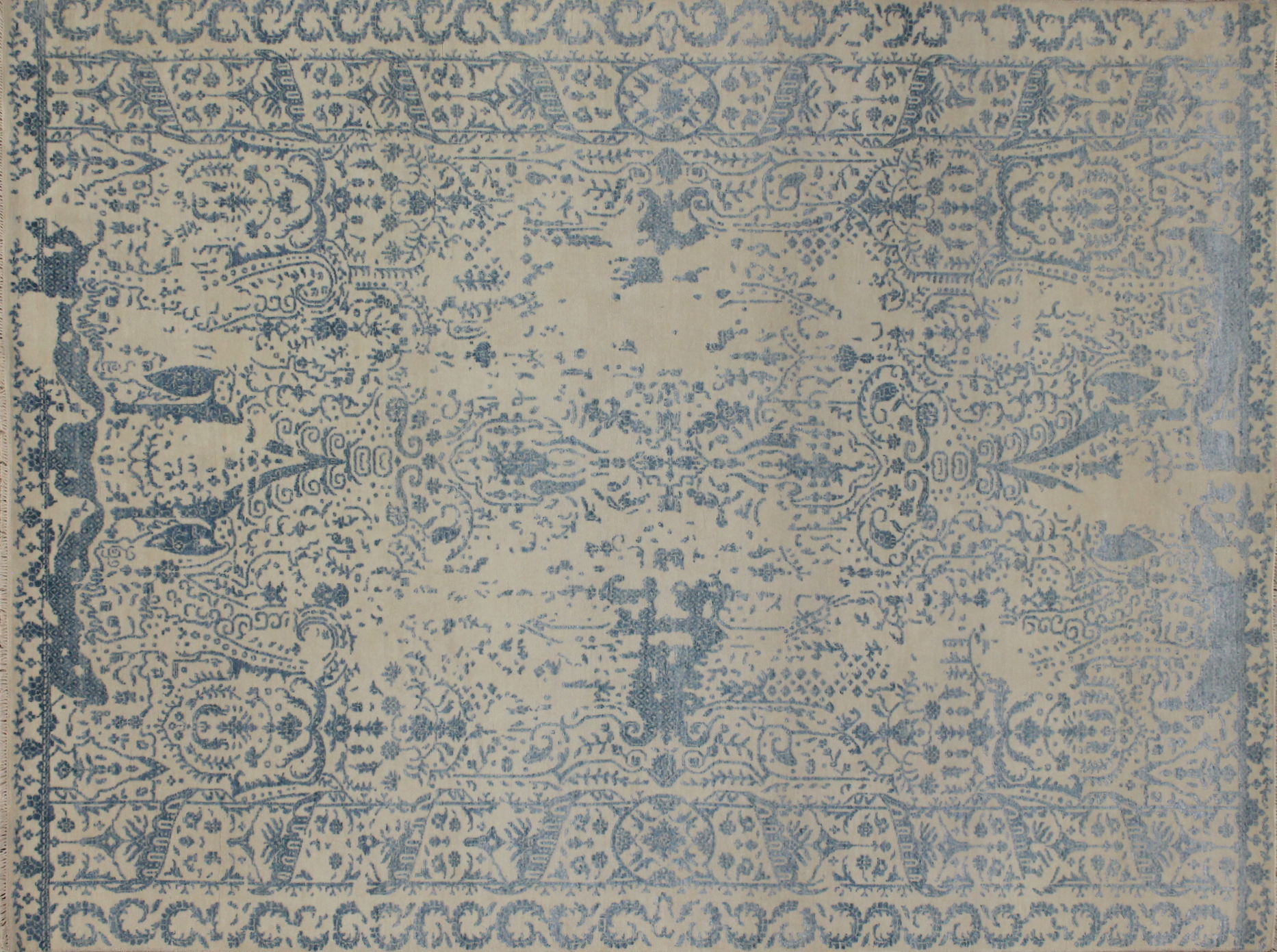 8x10  Hand Knotted Wool Area Rug - MR022835