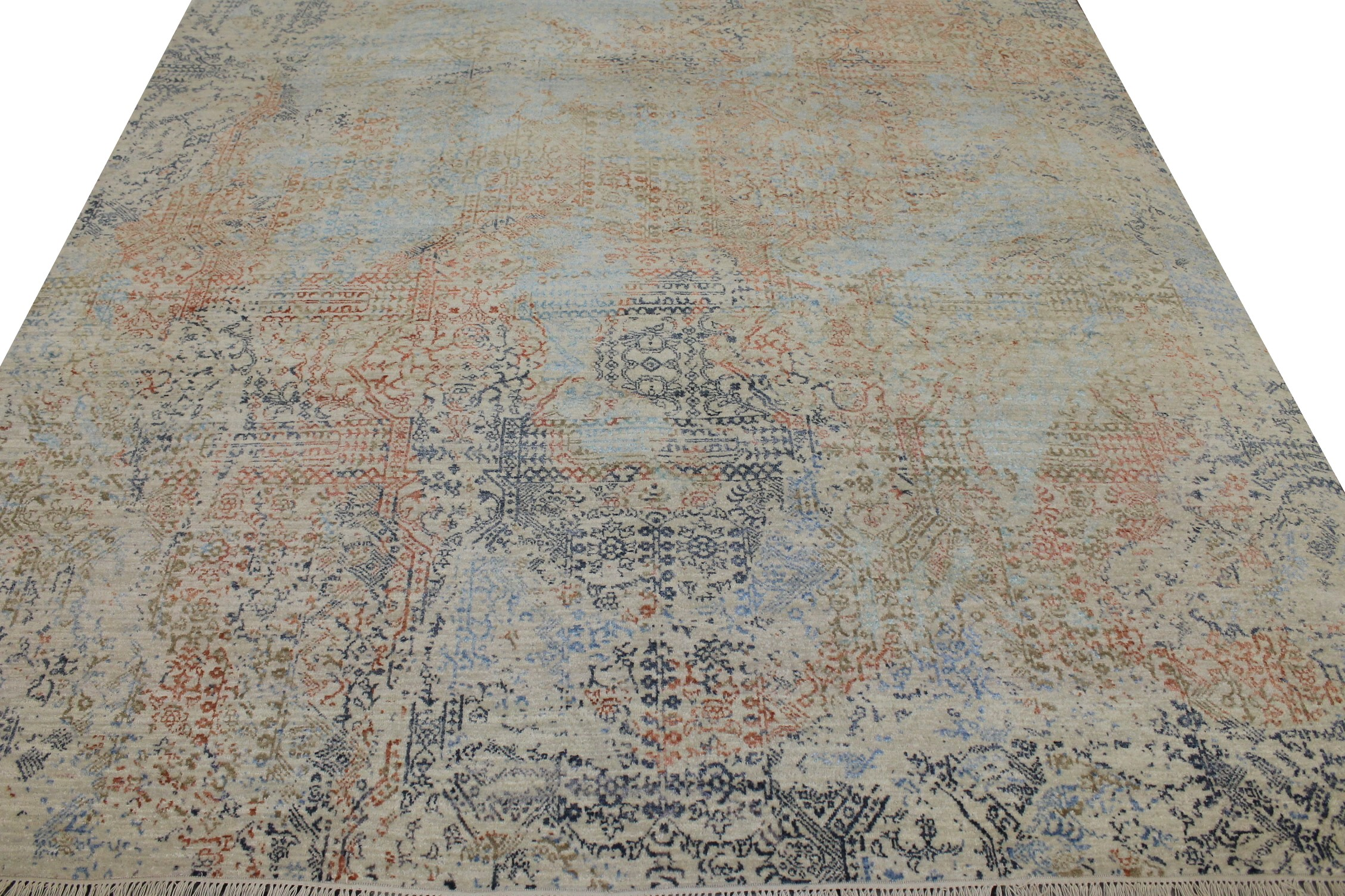 8x10  Hand Knotted Wool Area Rug - MR022845