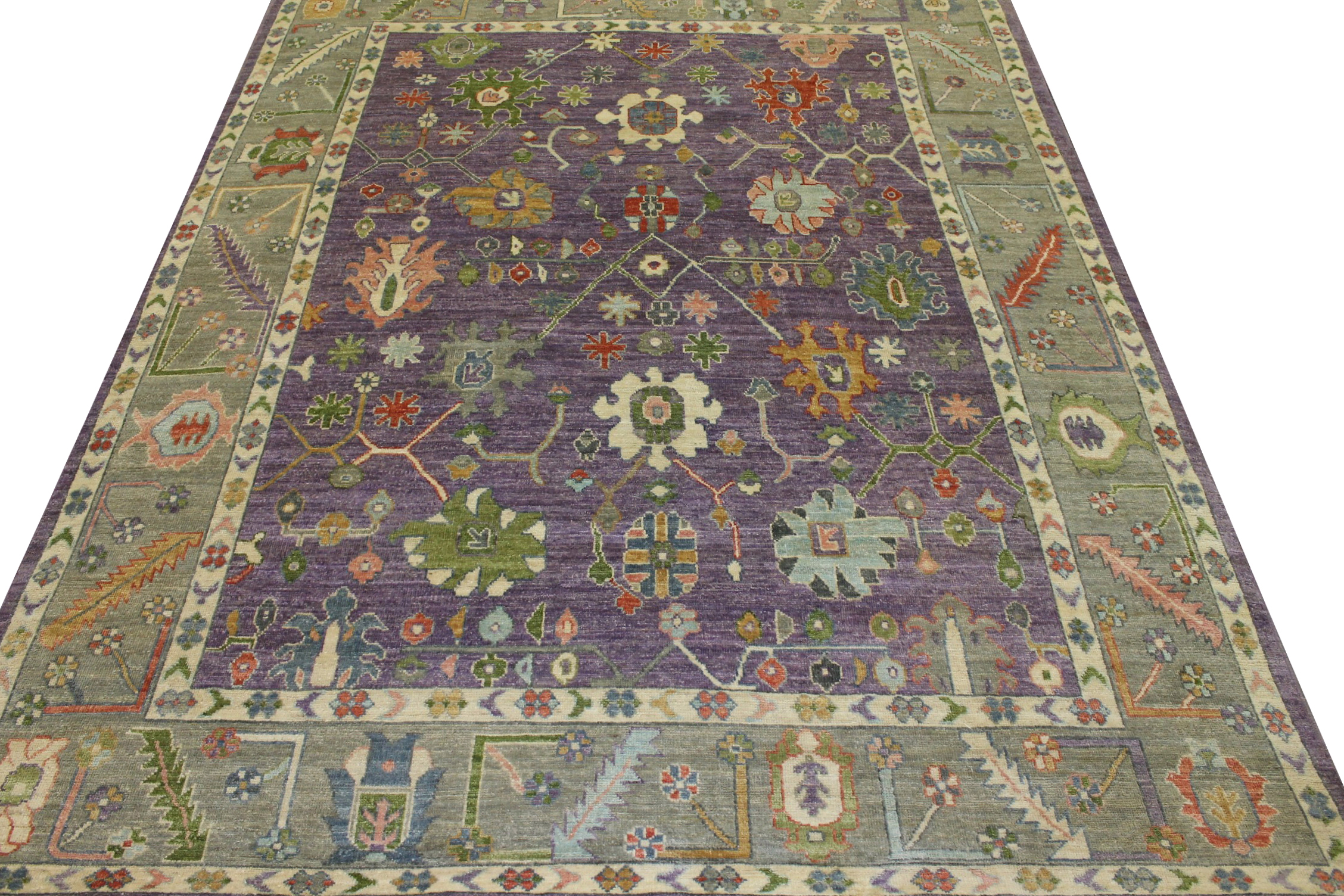 8x10  Hand Knotted Wool Area Rug - MR022917