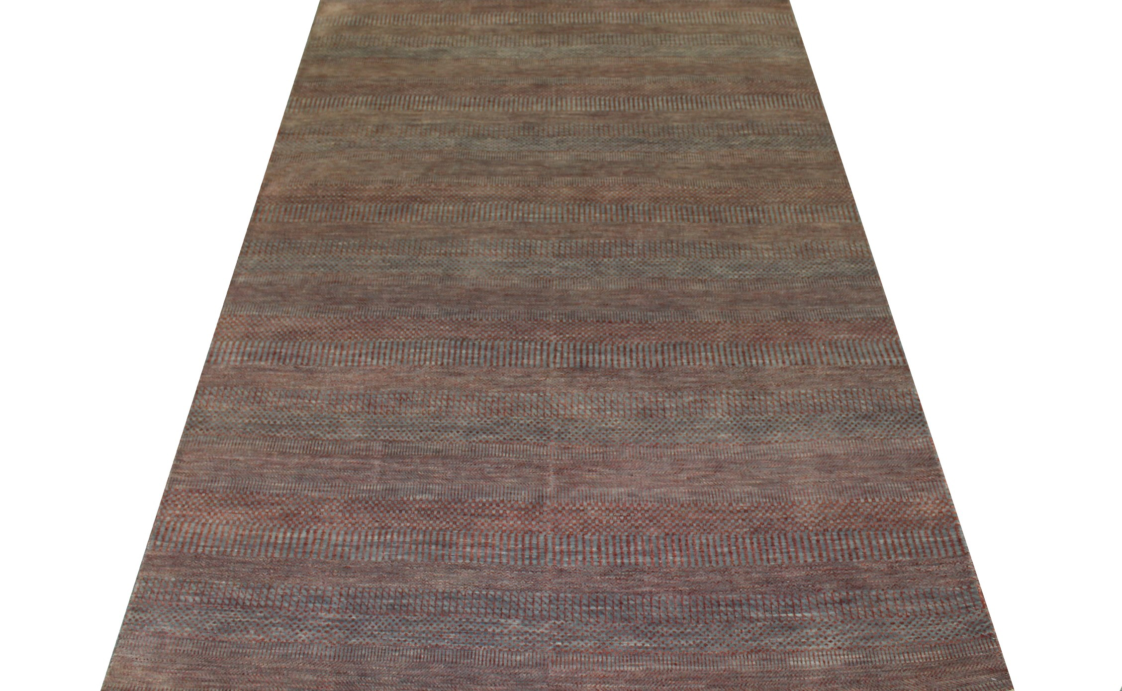 6x9  Hand Knotted Wool Area Rug - MR022957