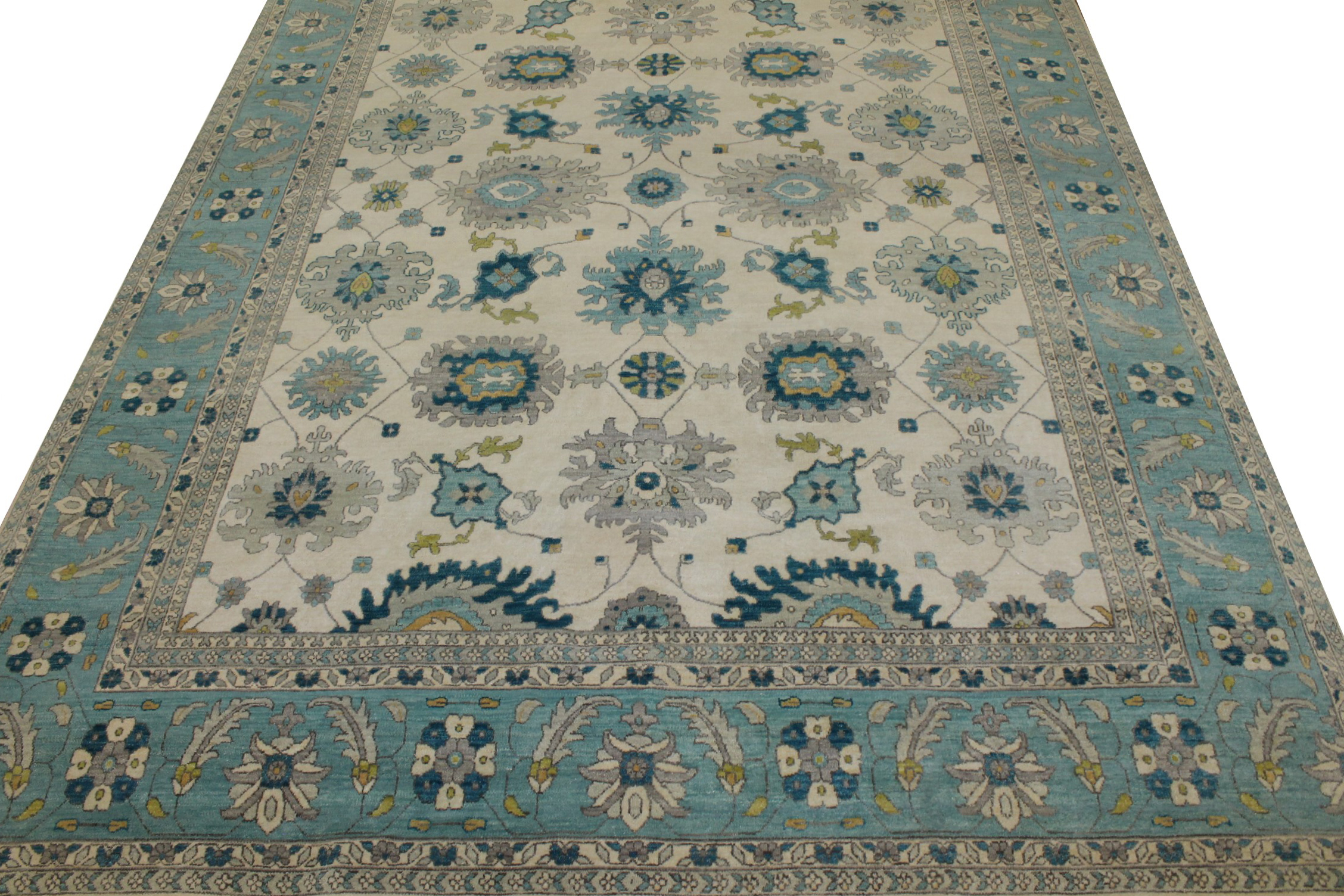 9x12 Traditional Hand Knotted Wool Area Rug - MR023182