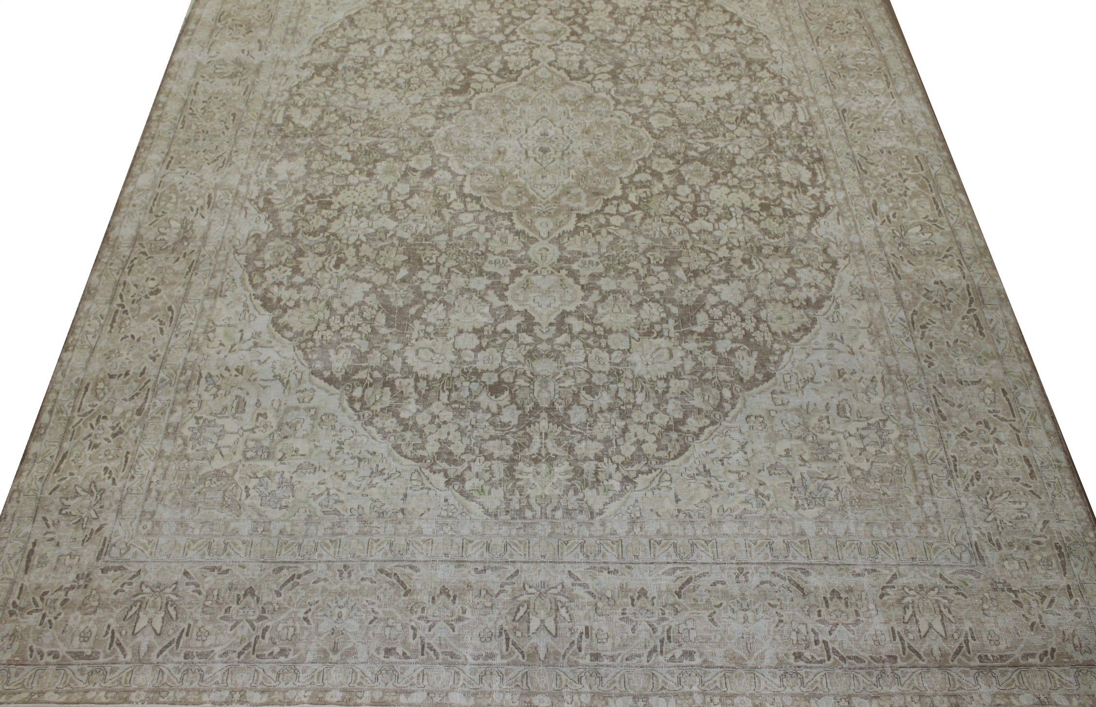 10x14 Vintage Hand Knotted Wool Area Rug - MR023301