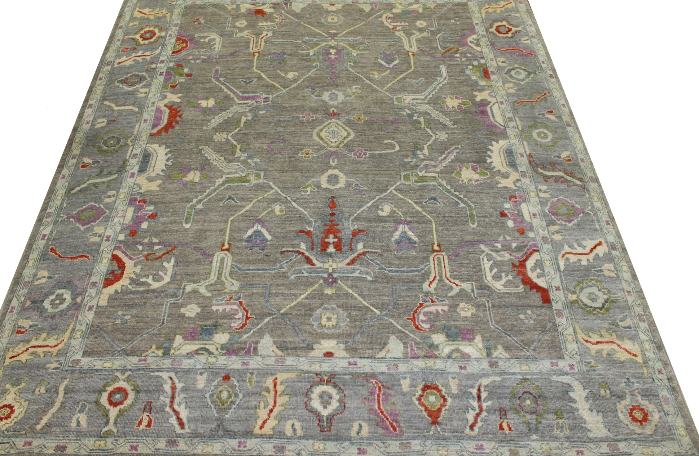 8x10 Oushak Hand Knotted Wool Area Rug - MR023360