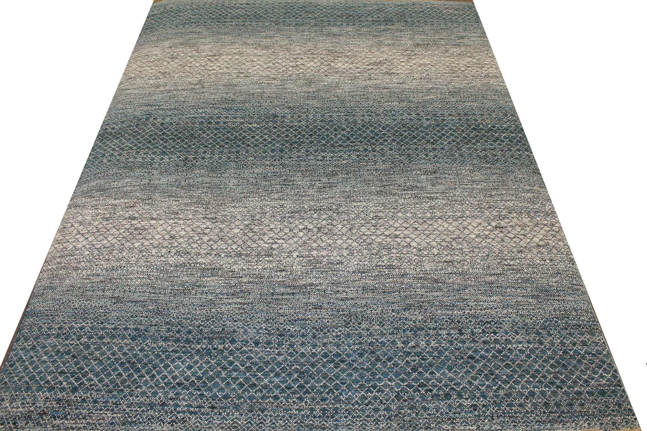 9x12 Casual Hand Knotted Wool Area Rug - MR023400