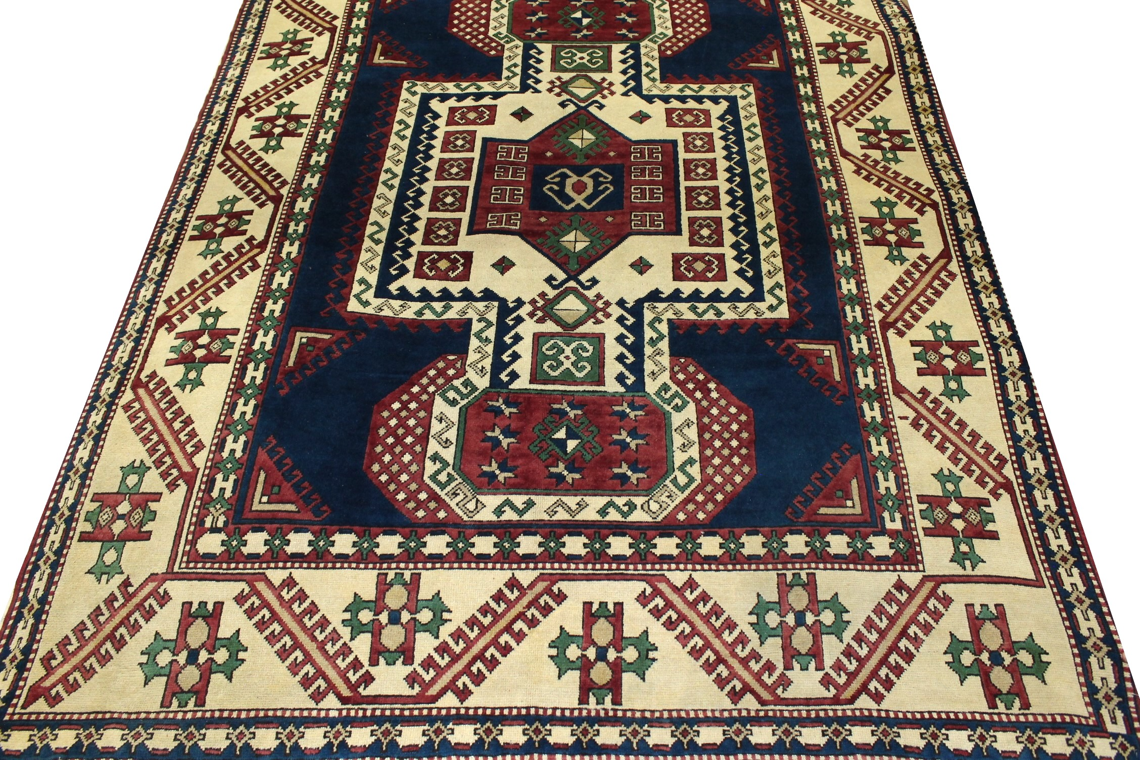 8x10 Oushak Hand Knotted Wool Area Rug - MR023452