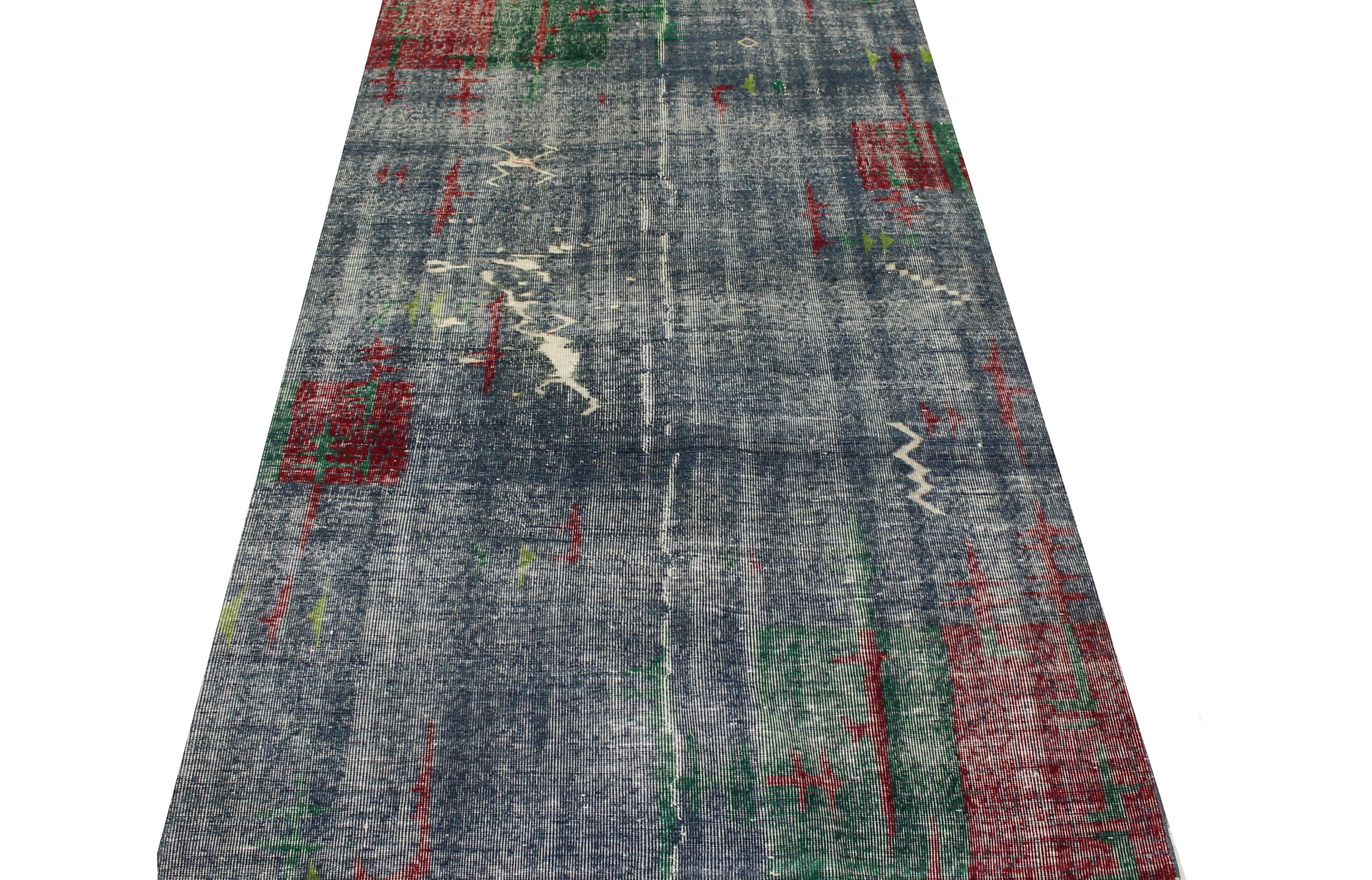 5x7/8 Contemporary Hand Knotted Wool Area Rug - MR023455